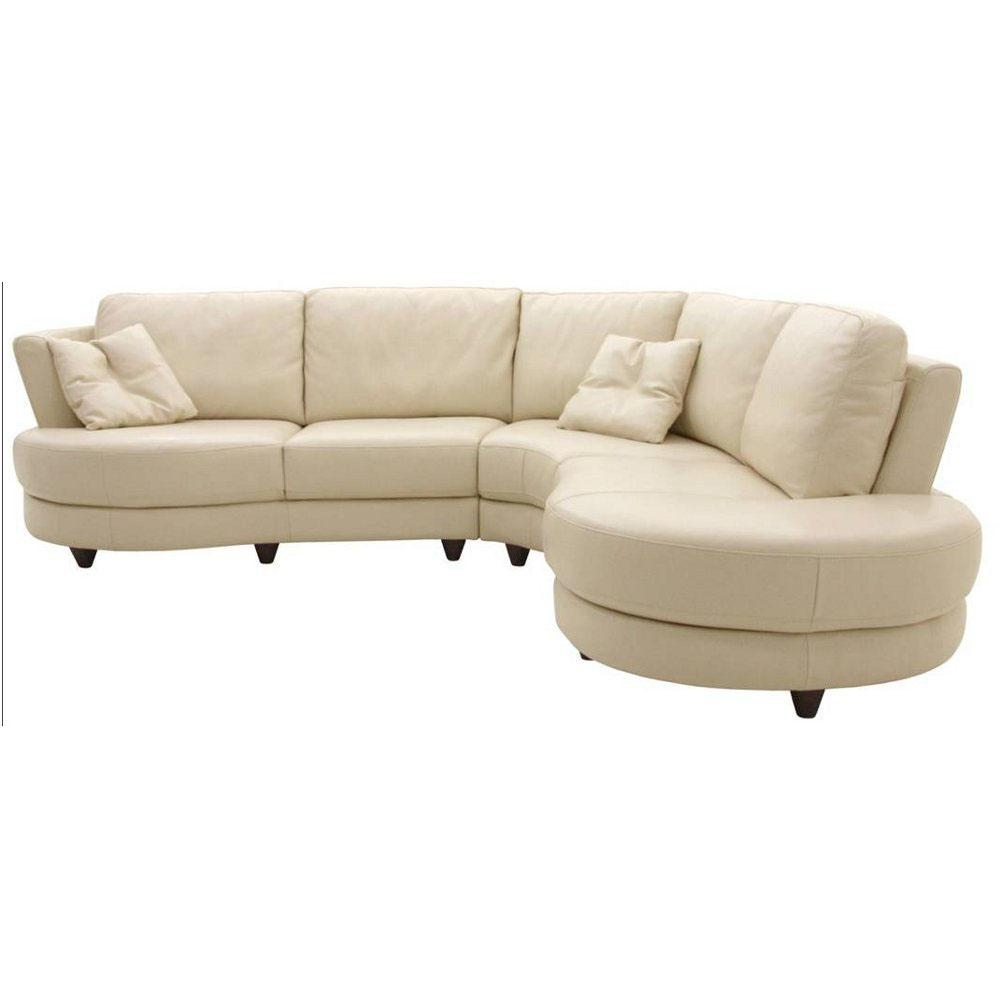 Curved Sectional Sofas For Small Spaces | Tehranmix Decoration Throughout Small Curved Sectional Sofas (Image 6 of 20)