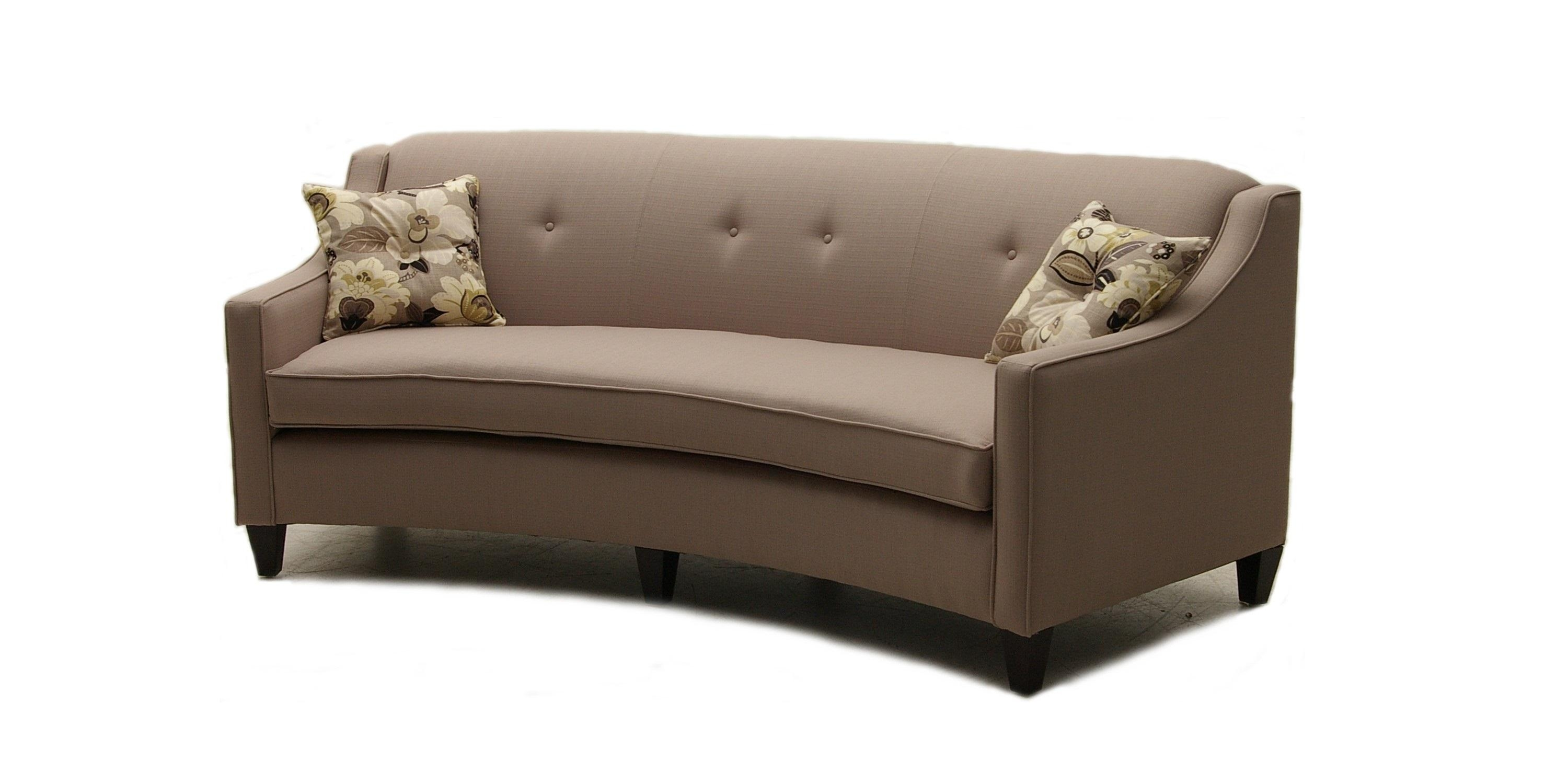 Small curved sofa good small curved sofa 74 about remodel for Small settee