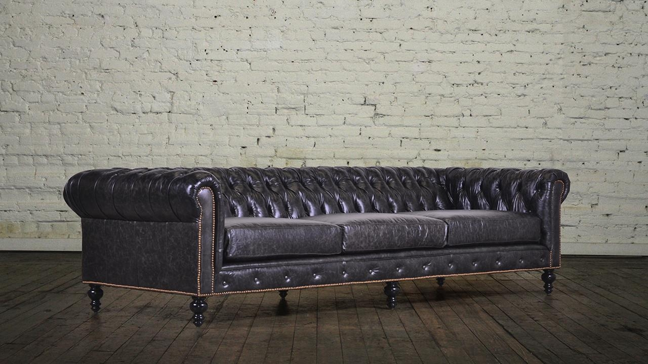 Custom Chesterfield Sofa And Carlyle Chesterfield Custom Sofa Nyc Regarding Custom Sofas Nyc (Image 3 of 20)