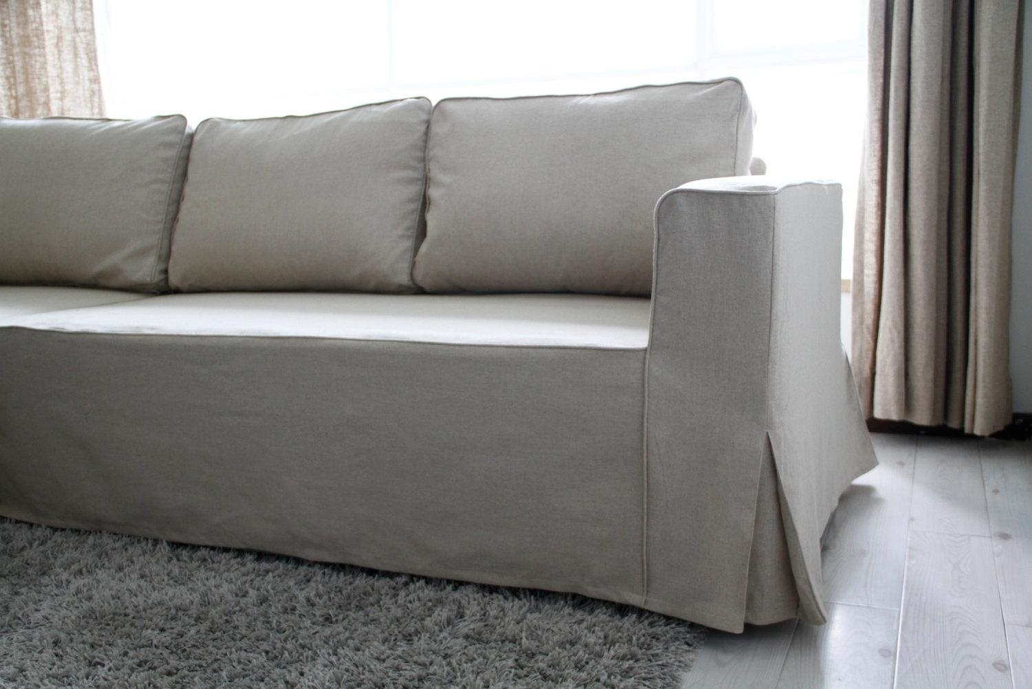 Custom Ikea Manstad Sofa Bed Cover Loose Fit Style In Liege With Regard To Manstad Sofa Bed (View 9 of 20)