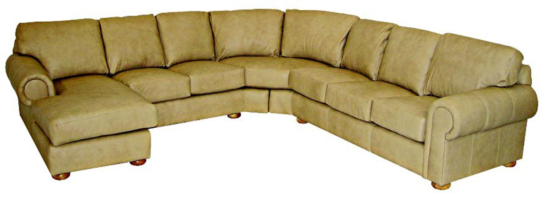 Custom Leather Sectionals Pertaining To Custom Leather Sectional (Image 9 of 15)