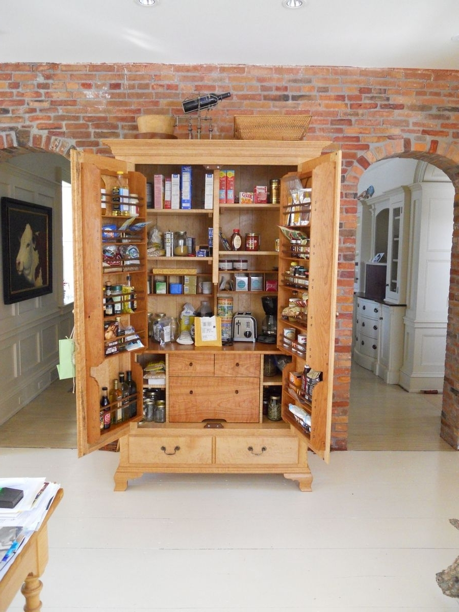 Custom Pantries | Custommade Throughout Pantry Cabinets To Utilize Your Kitchen (View 3 of 17)