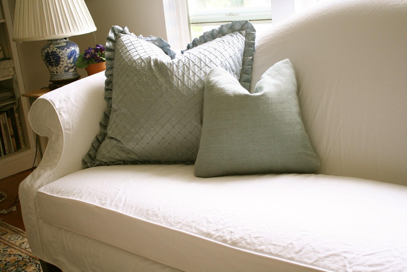 Custom Slipcoversshelley: White Camel Back Couch Regarding Camel Back Sofa Slipcovers (Image 10 of 20)