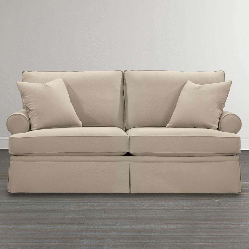 Custom Upholstered Studio Sofa | Bassett Home Furnishings In Customized Sofas (Image 7 of 20)