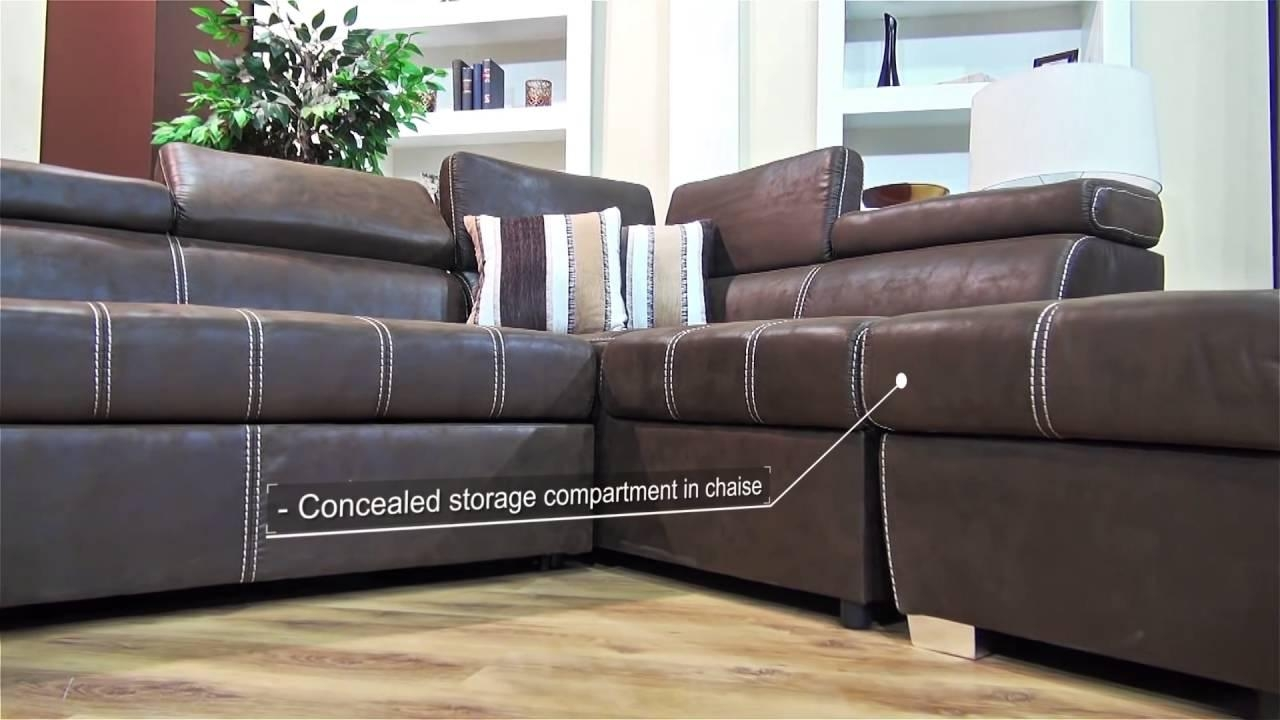 Dallas Corner Sleeper Couch – Youtube Within Dallas Sleeper Sofas (Image 4 of 20)
