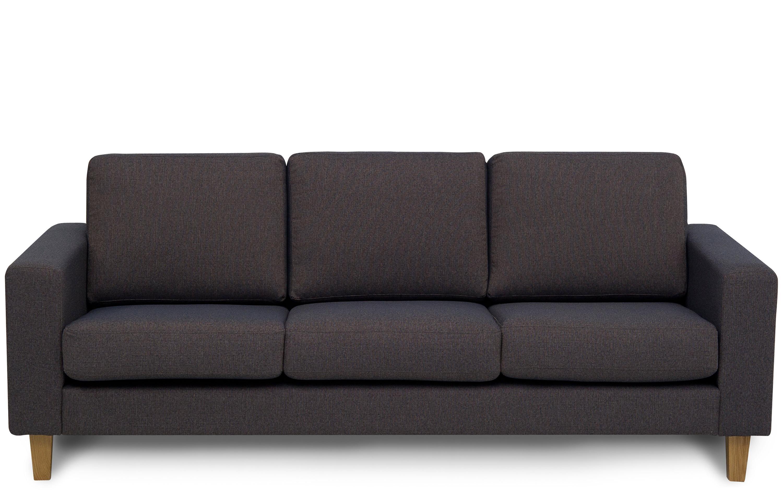 Dalton Three Seater Sofa | Designer Sofas | Buy At Kontenta Intended For Three Seater Sofas (View 13 of 20)