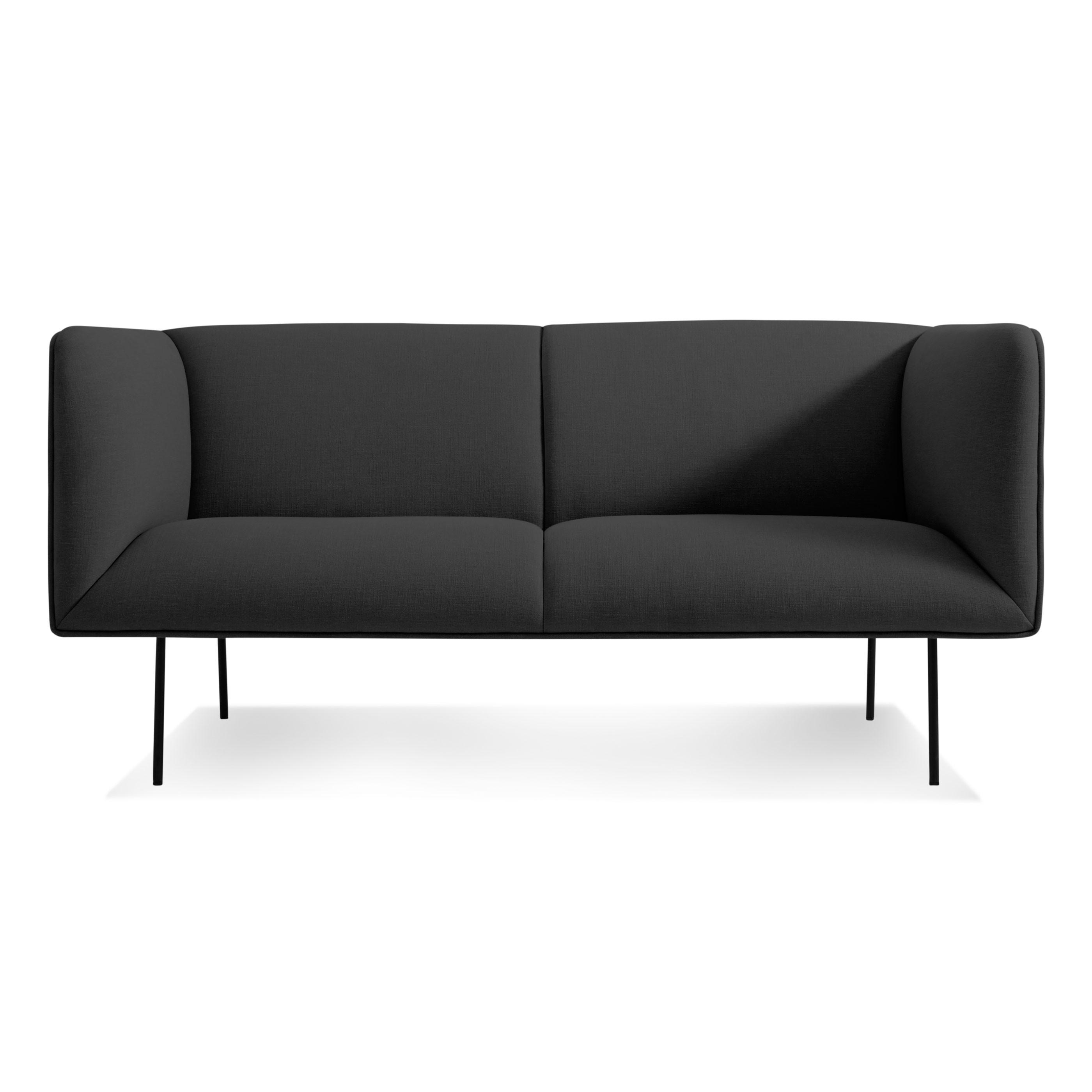"Dandy 86"" Fabric Sofa – Modern Fabric Sofa | Blu Dot For Sofas With High Backs (Image 3 of 20)"