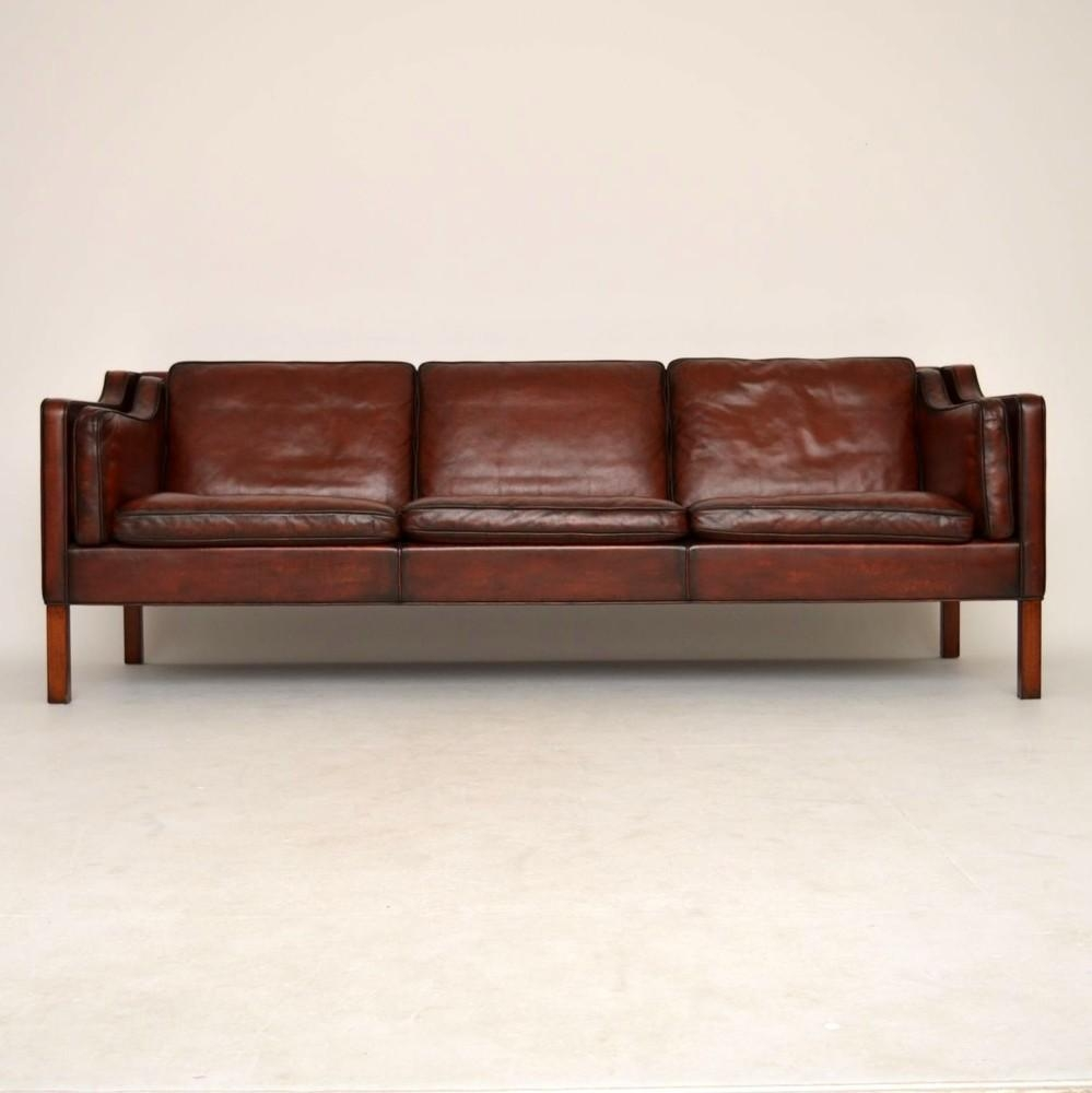 Danish Leather Sofa With Inspiration Photo 19713   Kengire Within Danish Leather Sofas (Image 7 of 20)
