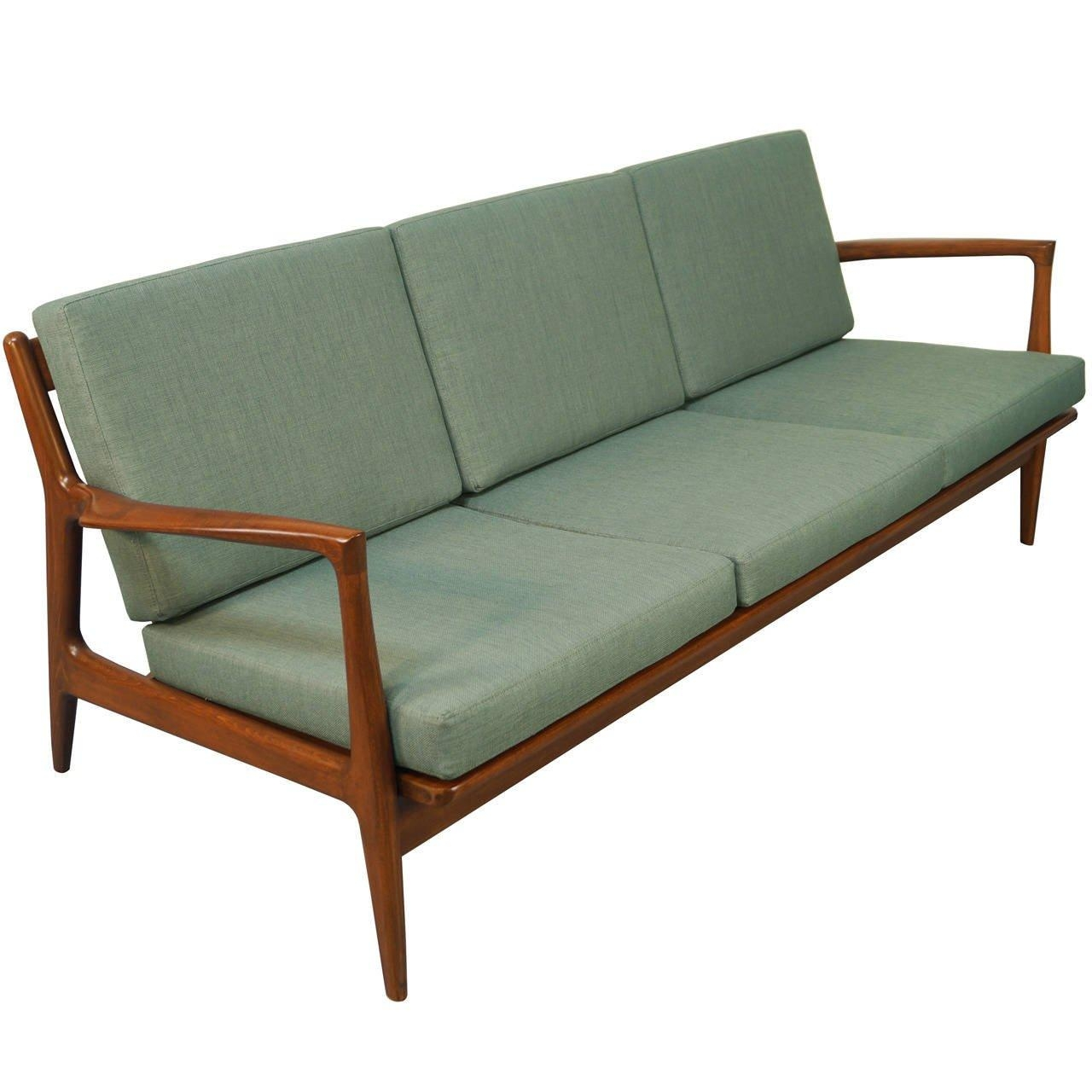 Danish Modern Sofaib Kofod Larsen At 1Stdibs Intended For Modern Danish Sofas (View 3 of 20)