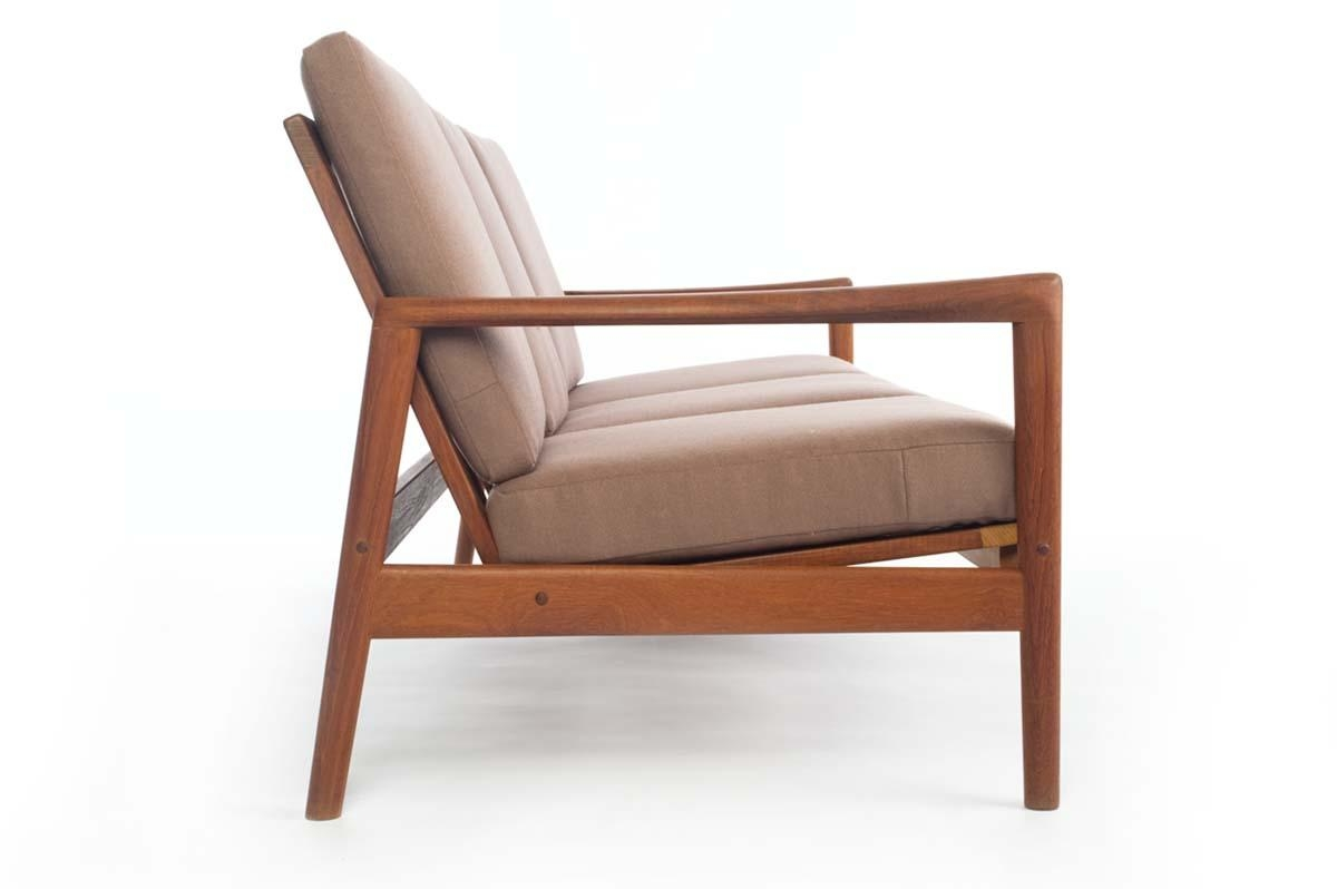 Danish Modern Teak Sofa – Danish Teak Classics Throughout Modern Danish Sofas (View 5 of 20)