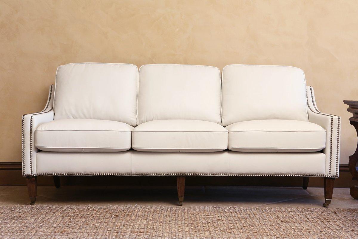 Darby Home Co Boneta Bonded Leather Sofa & Reviews | Wayfair Intended For Bonded Leather Sofas (View 17 of 20)