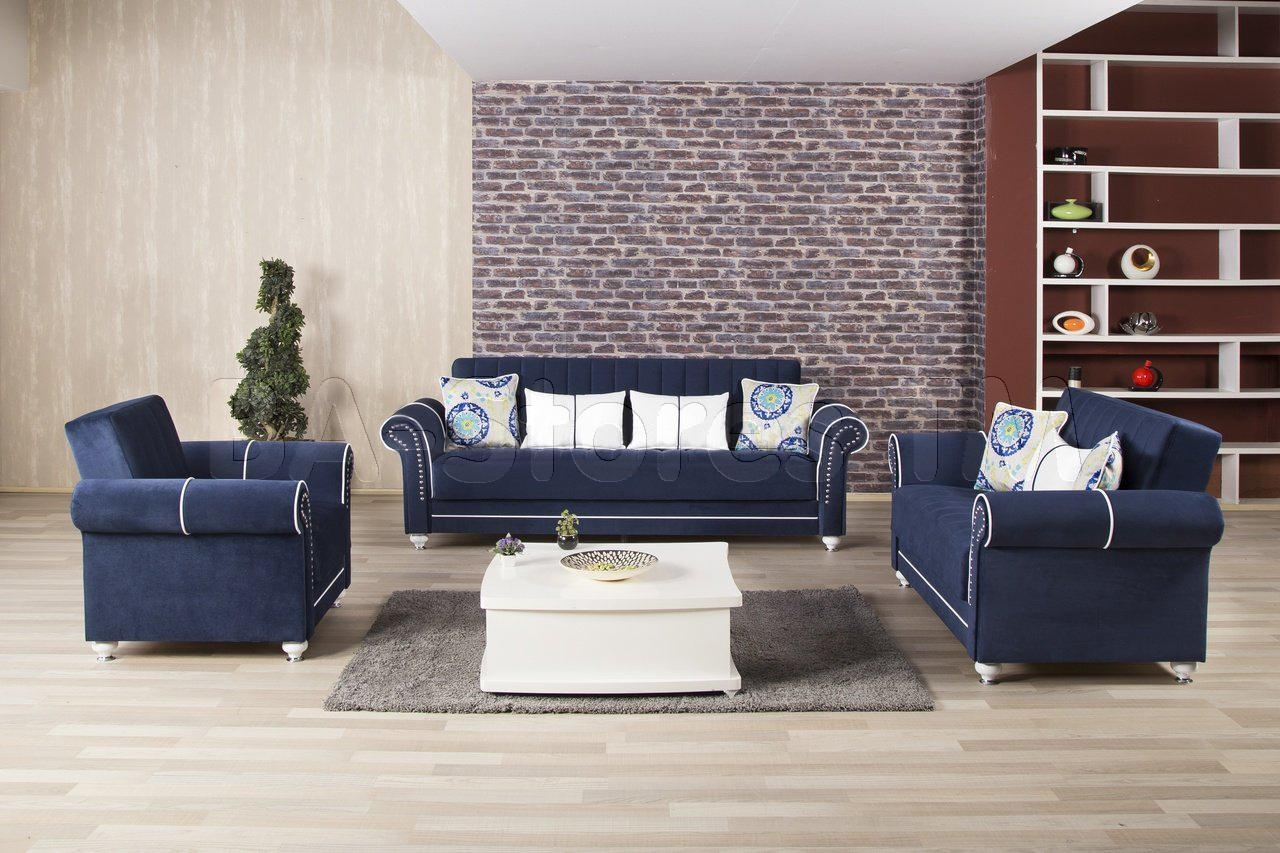 Dark Blue Sofas Throughout Blue Sofas (Image 13 of 20)