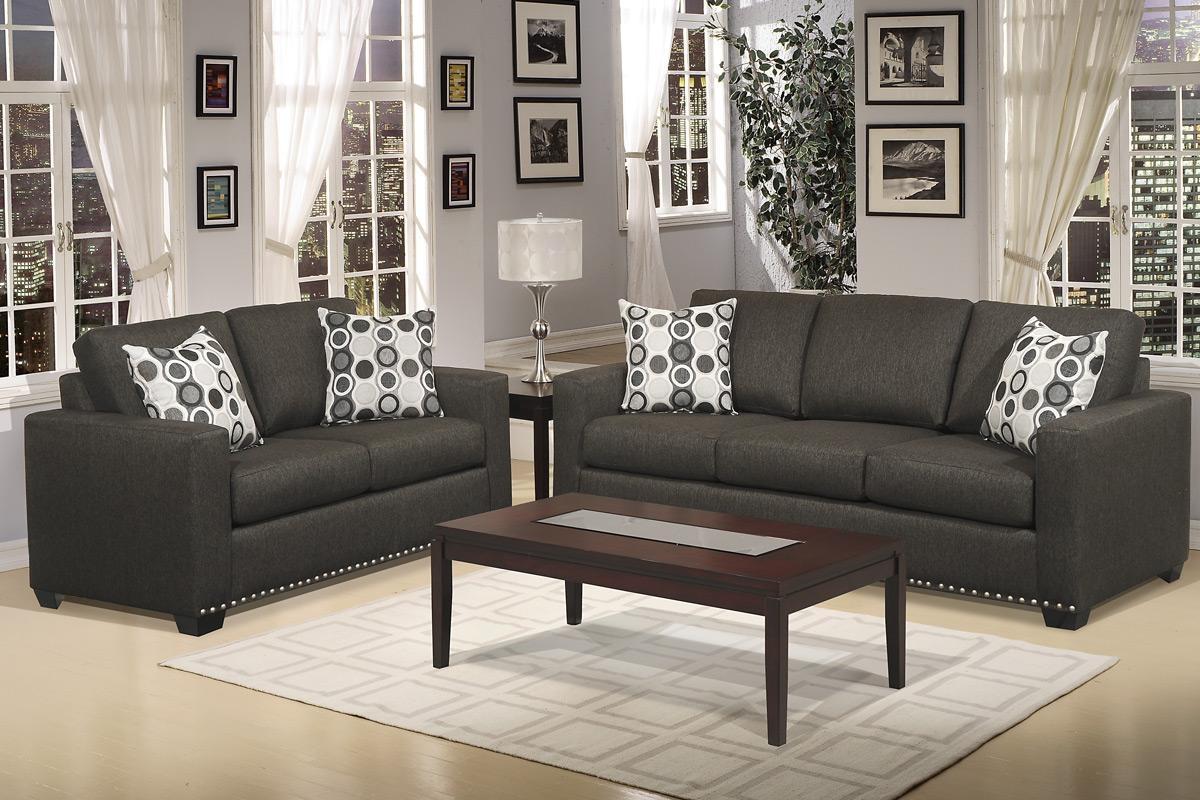 Dark Grey Sofa Table | Tehranmix Decoration Throughout Charcoal Grey Sofas (Image 12 of 20)