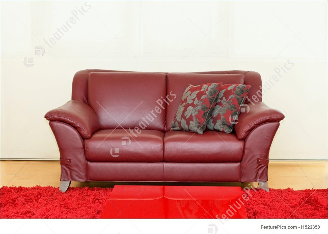 Dark Red Sofa Image With Regard To Dark Red Leather Sofas (Image 8 of 20)
