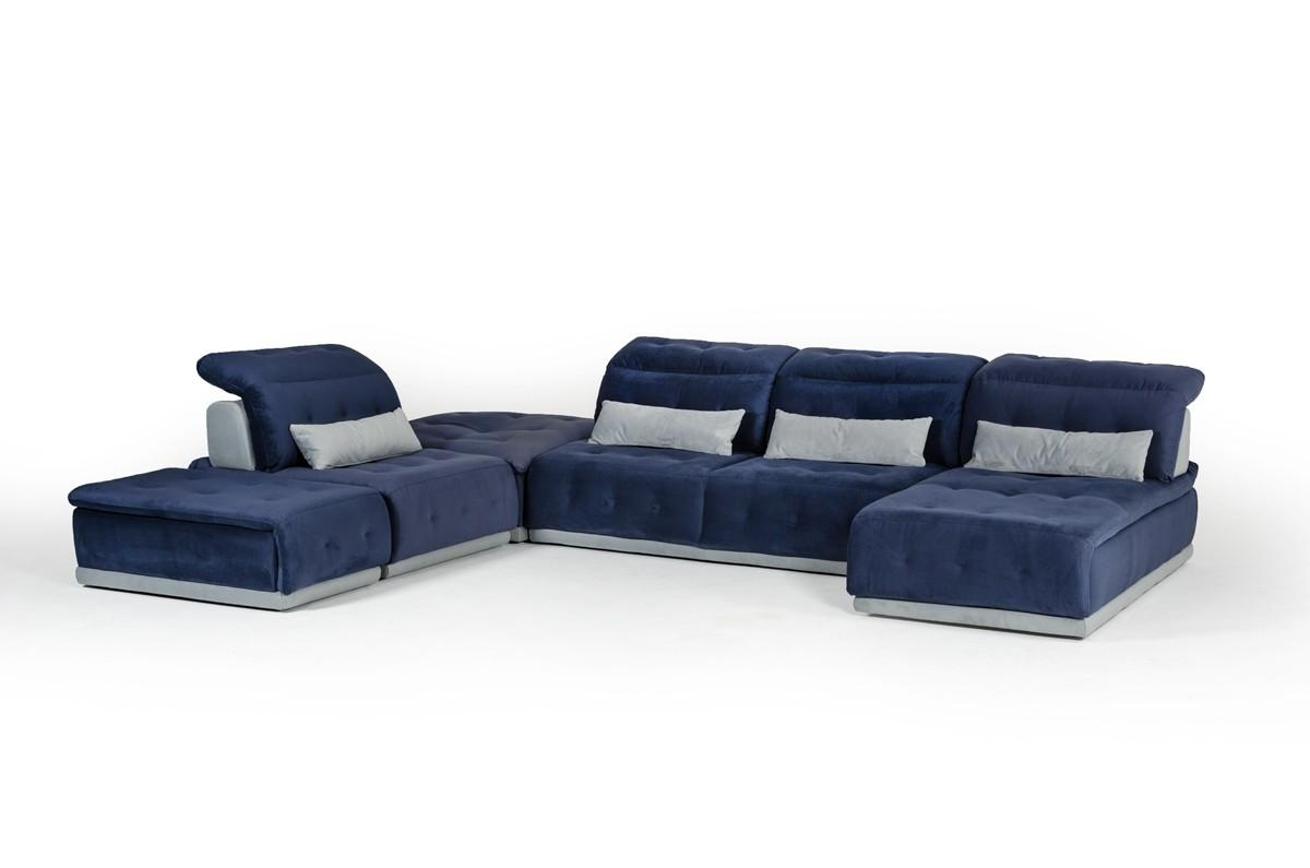 David Ferrari Italian Seating Collection | Modern Living Room Sofa Within Leather Modular Sectional Sofas (Image 2 of 20)