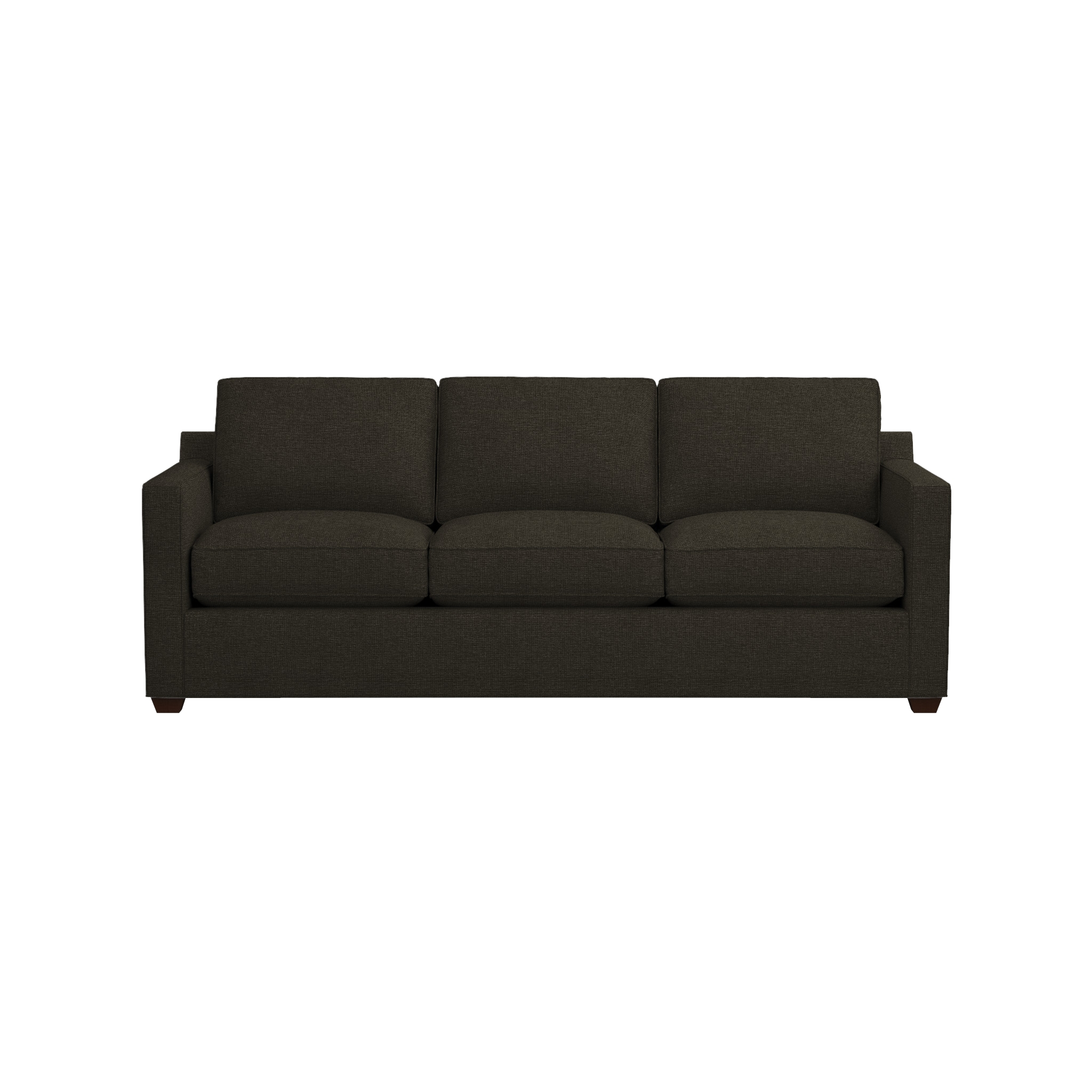 Davis 3 Seat Queen Sleeper Sofa | Crate And Barrel Throughout Crate And Barrel Sofa Sleepers (Image 8 of 20)