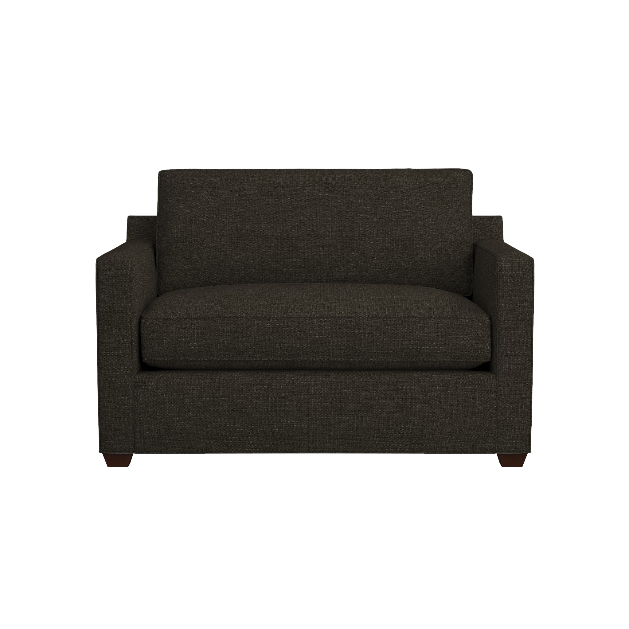 Davis Sleeper Armchair | Crate And Barrel With Regard To Crate And Barrel Sofa Sleepers (Image 10 of 20)