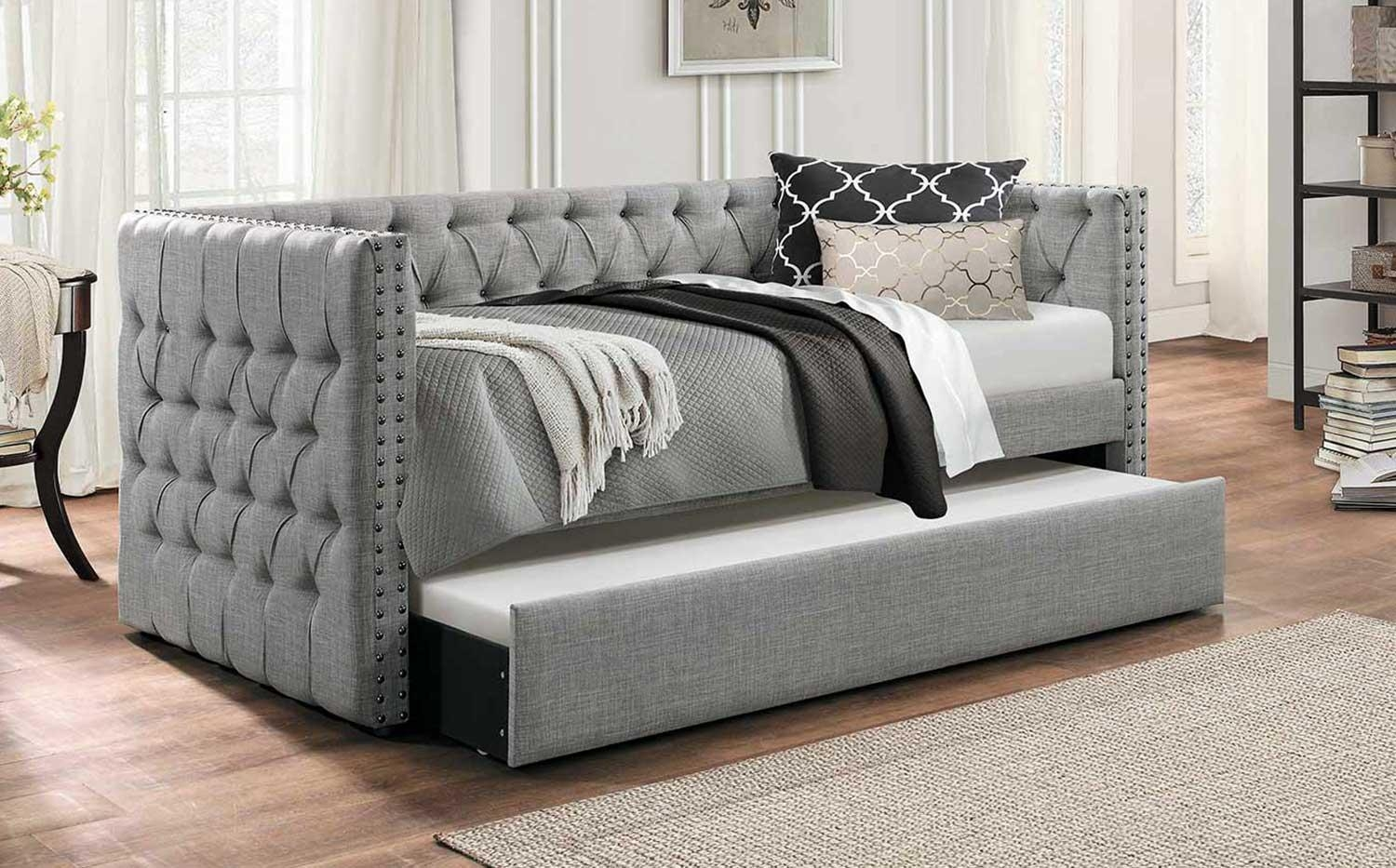 Daybed And Futon | Homelegancefurnitureonline Intended For Sofas Daybed With Trundle (Image 2 of 20)