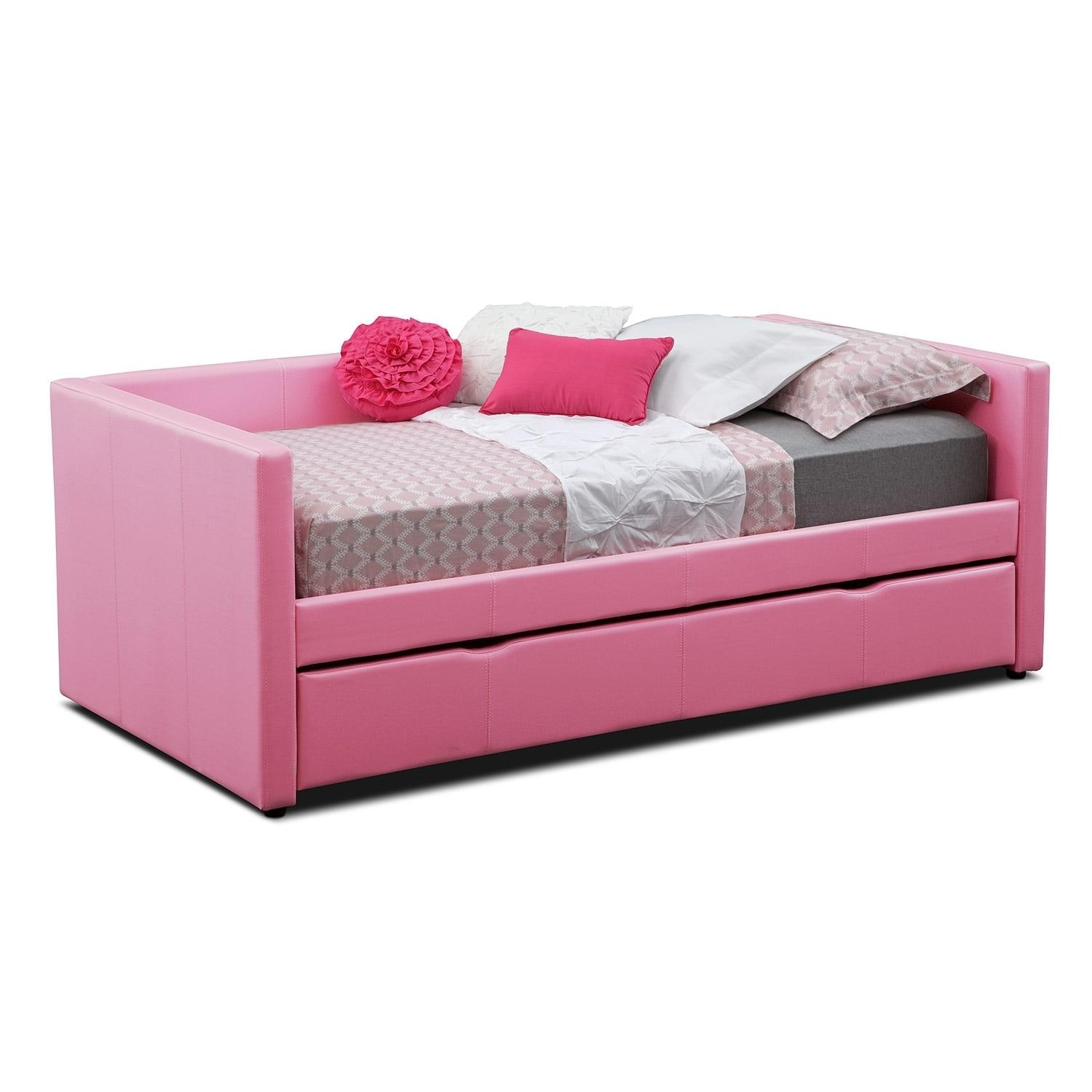 Daybeds & Trundle Beds | Bedroom Furniture | Value City Furniture For Sofas Daybed With Trundle (Image 4 of 20)