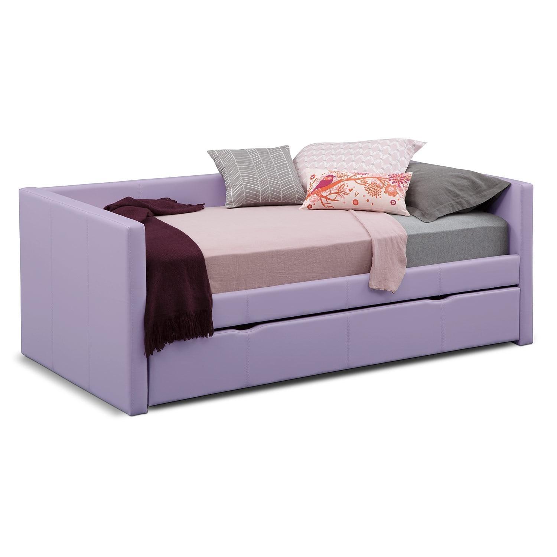 Daybeds & Trundle Beds | Bedroom Furniture | Value City Furniture Within Sofas Daybed With Trundle (Image 6 of 20)