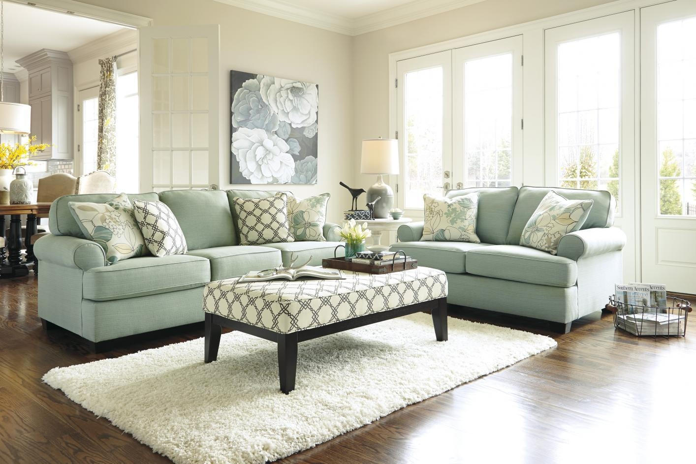 Featured Photo of Seafoam Green Sofas