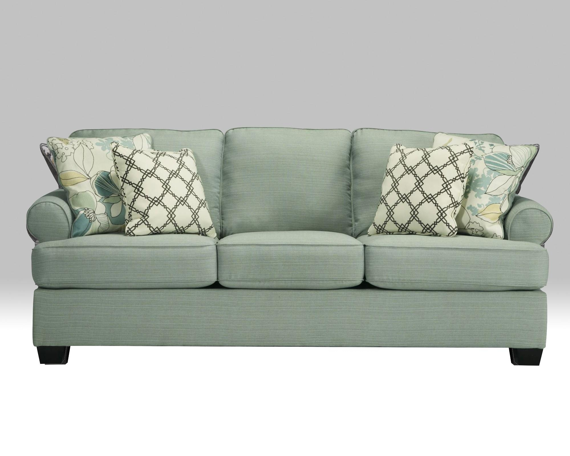 Daystar Seafoam Sofa For $ (Image 9 of 20)