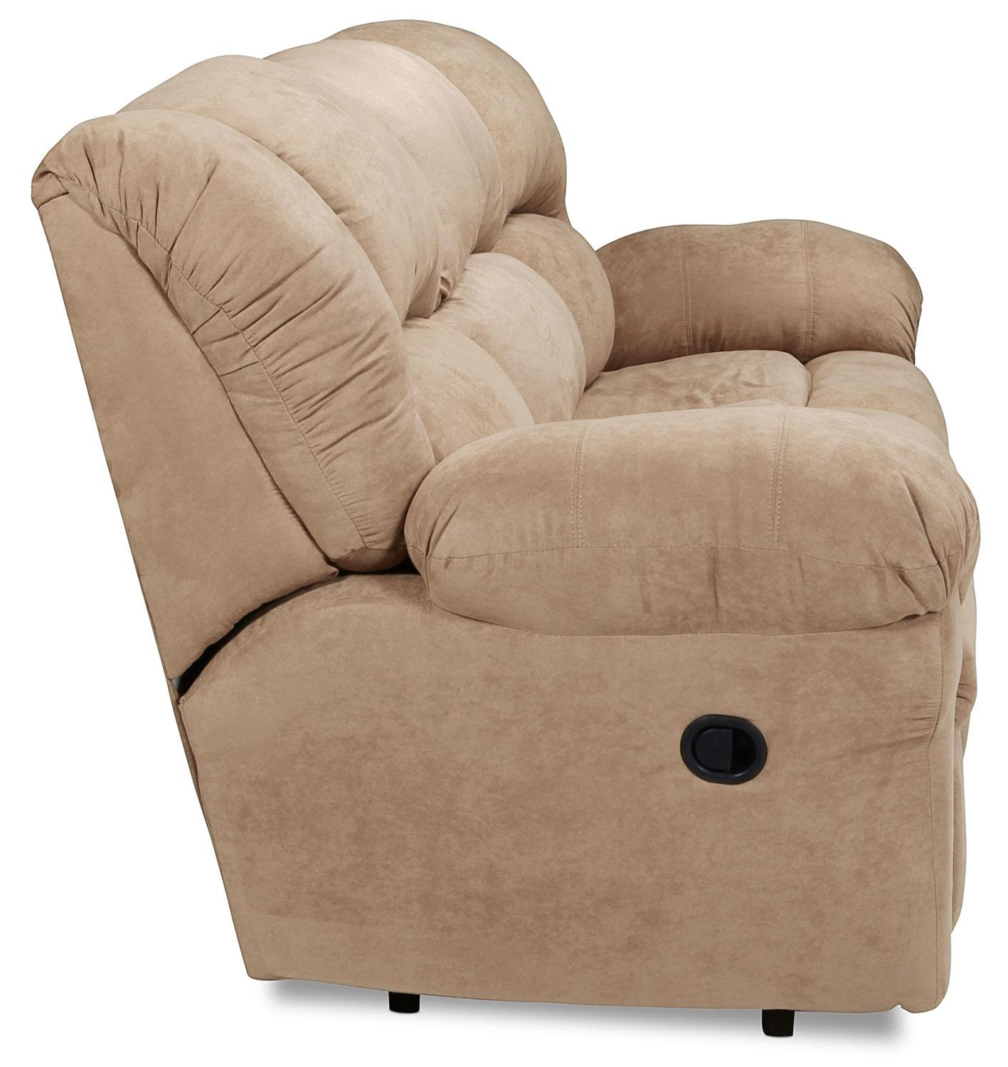 Decker Reclining Sofa – Camel | Levin Furniture Within Recliner Sofa Chairs (Image 9 of 20)
