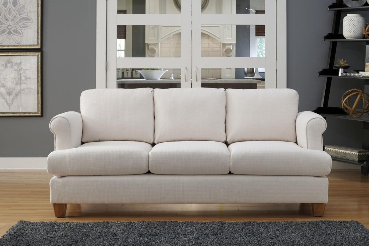 Decor: Beautiful T Cushion Sofa Slipcover For Living Room With Loveseat Slipcovers T Cushion (View 2 of 20)