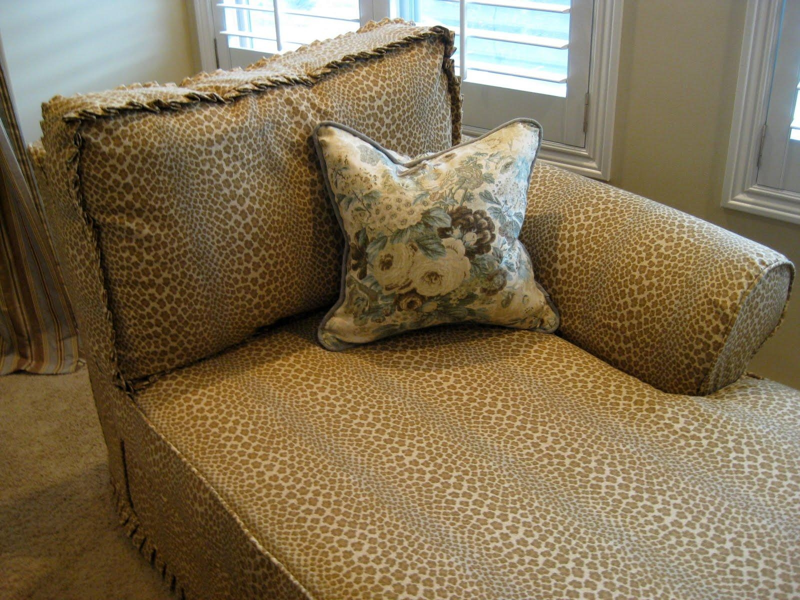 Decor: Cream Leather Chaise Lounge Slipcover For Elegant Interior Inside Slipcovers For Chaise Lounge Sofas (Image 7 of 20)