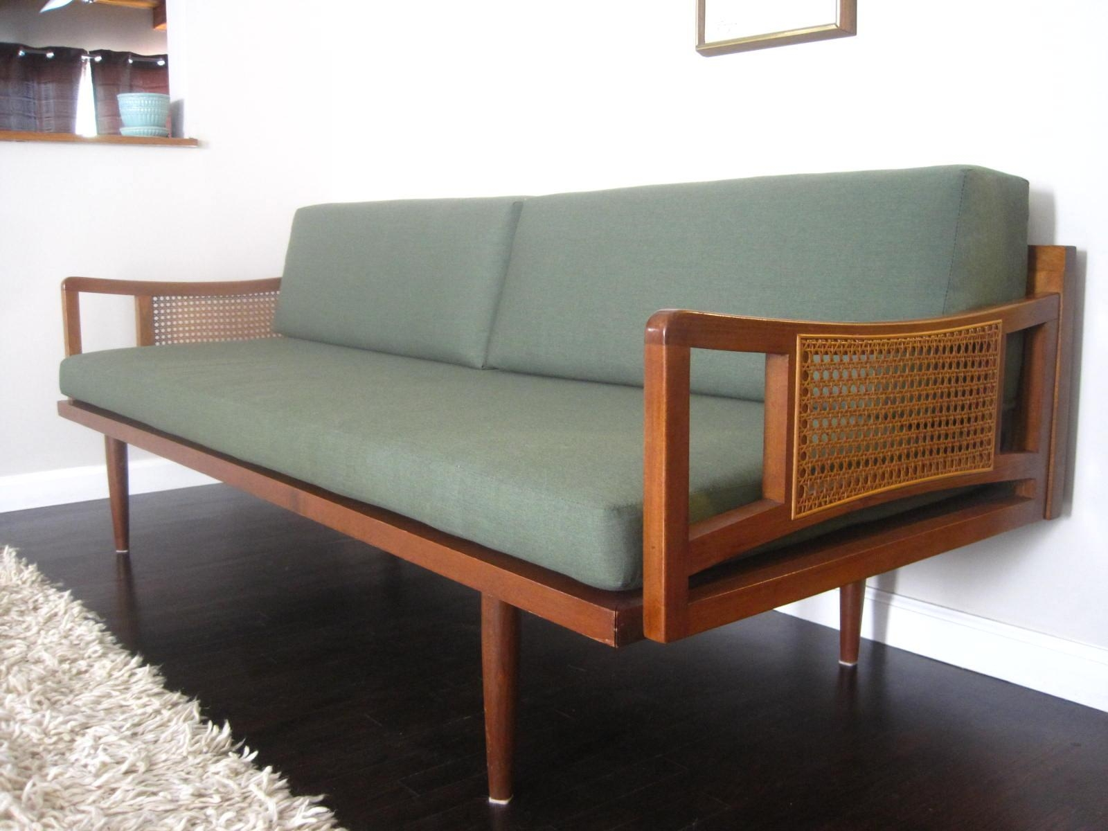 Decor: Lovable Vintage Danish Modern Furniture Bench Mid Century Regarding Danish Modern Sofas (Image 7 of 20)