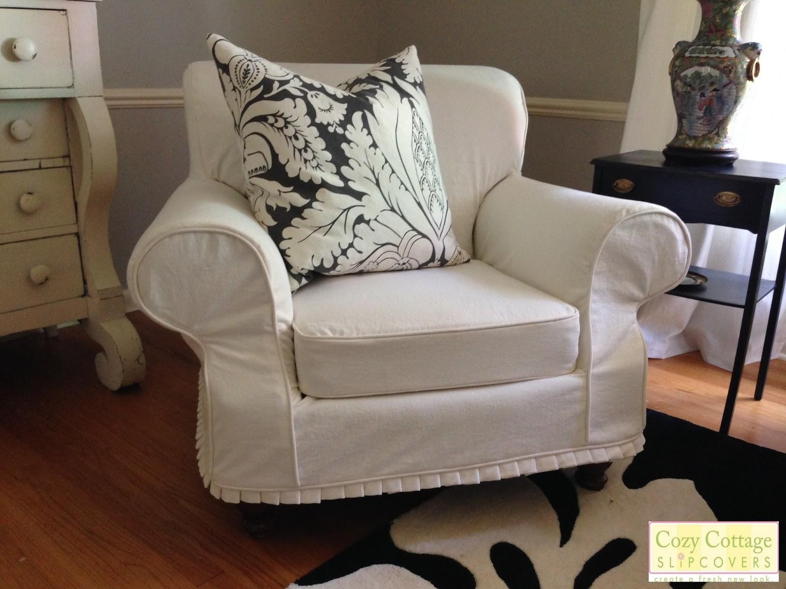 Decor: Shabby Chic Slipcovers | Shabby Chic Couches | Shabby Chic Inside Shabby Chic Slipcovers (View 13 of 20)