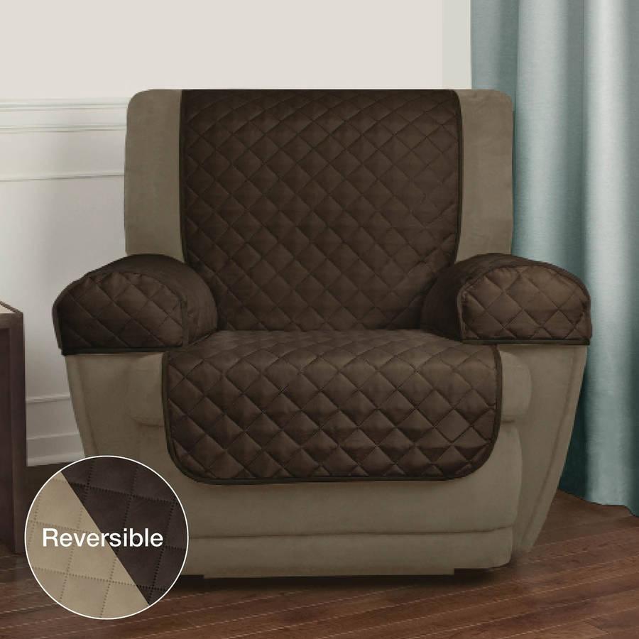 Decor: Stretch Sofa Slipcover | Walmart Slipcovers | Sofa Covers Within Stretch Covers For Recliners (View 10 of 20)
