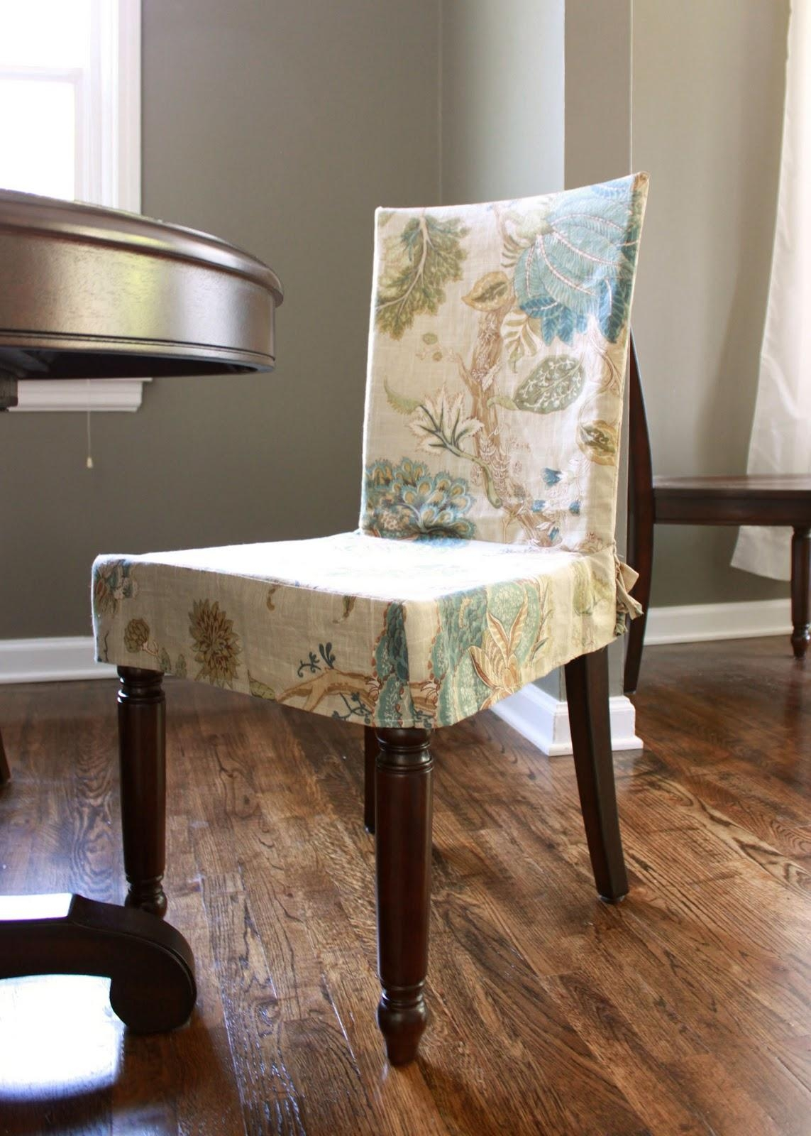 Decorating: Beautiful Cheap Slipcovers For Living Room Decoration With Regard To Dining Sofa Chairs (View 18 of 20)