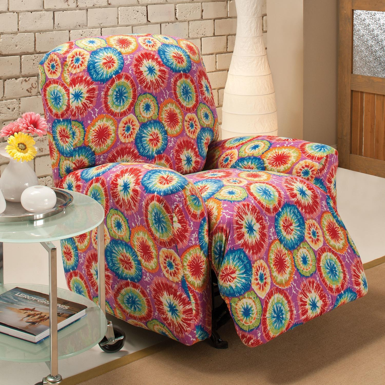 Decorating: Beautiful Decorative Floral Slipcovers For Recliners Within Floral Slipcovers (View 15 of 20)
