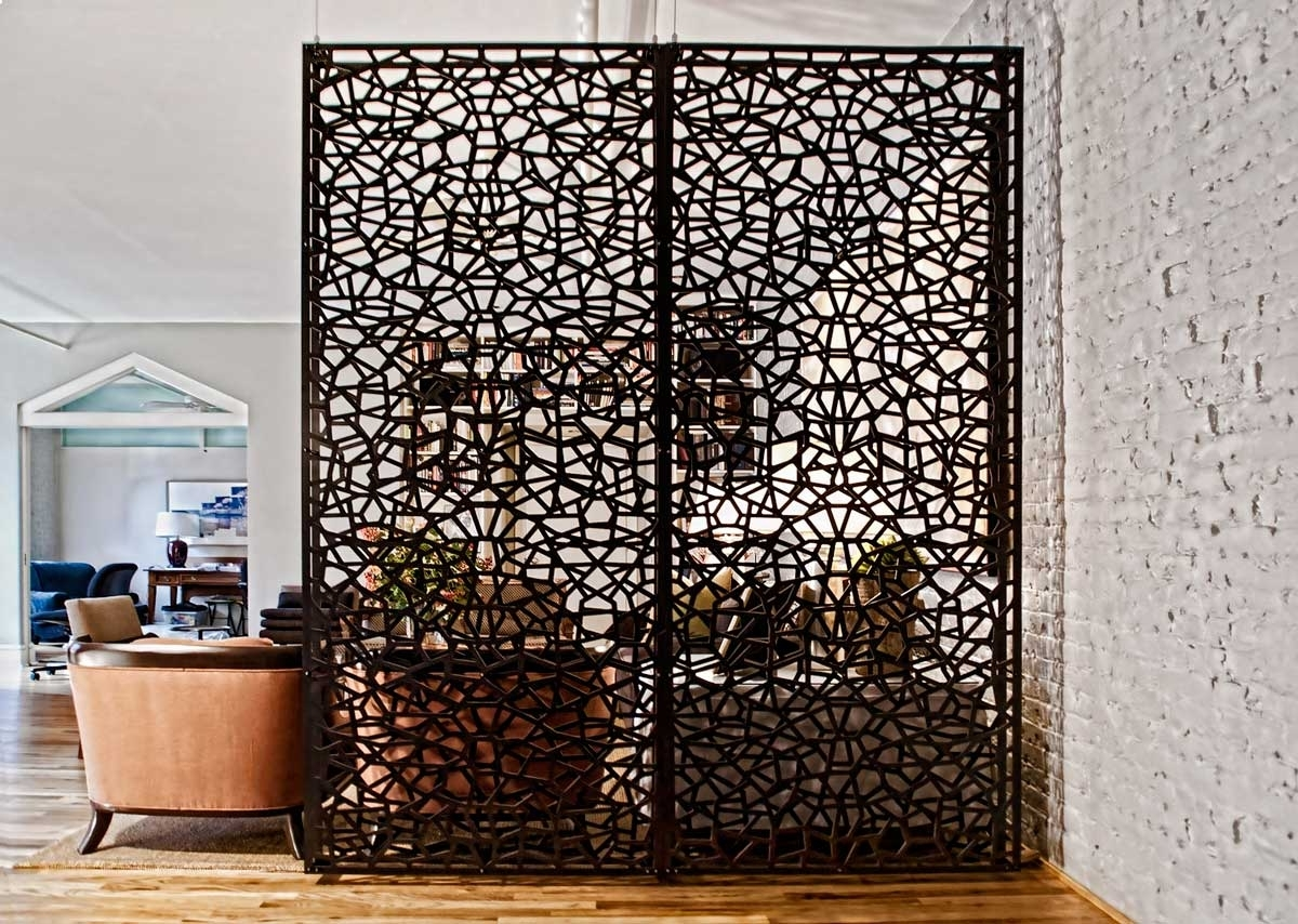 Decorating: Decorative Stylish Home Depot Room Dividers Design Pertaining To Room Dividers Screen (View 3 of 12)