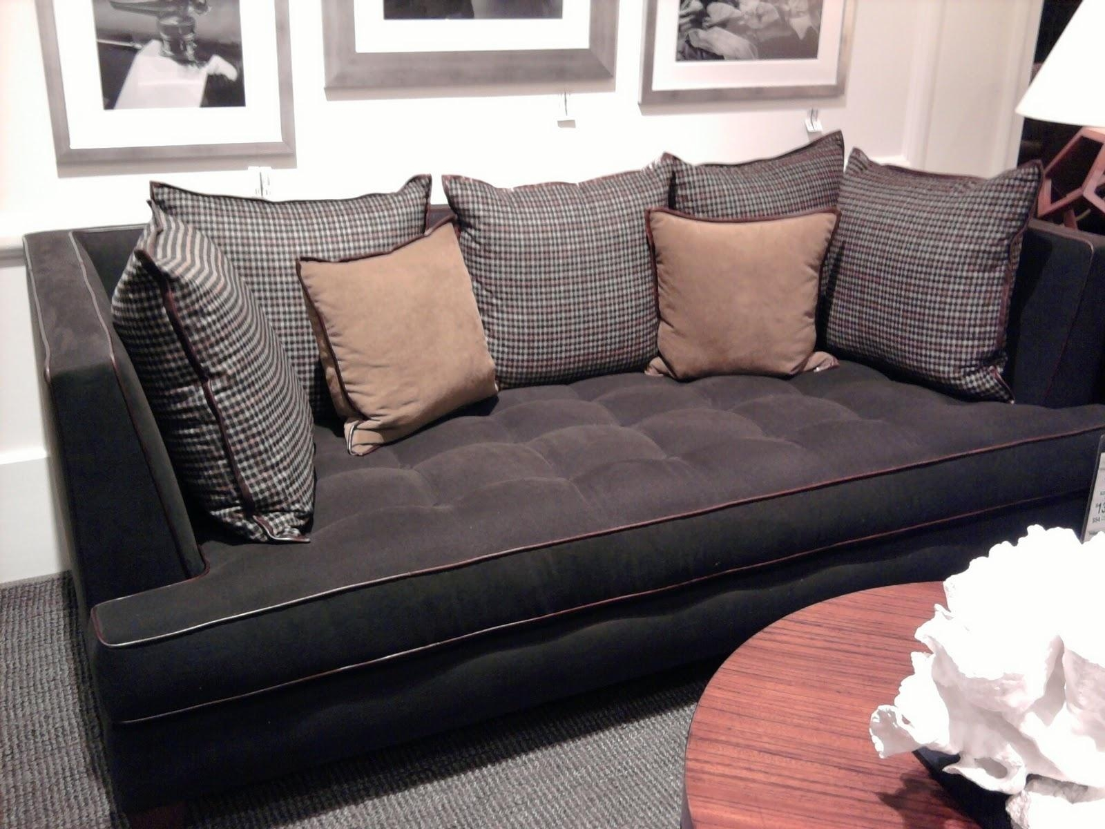 Decorating: Deep Seat Couches With Amazing Deep Sectional Sofa With Regard To Deep Cushion Sofa (Image 2 of 20)