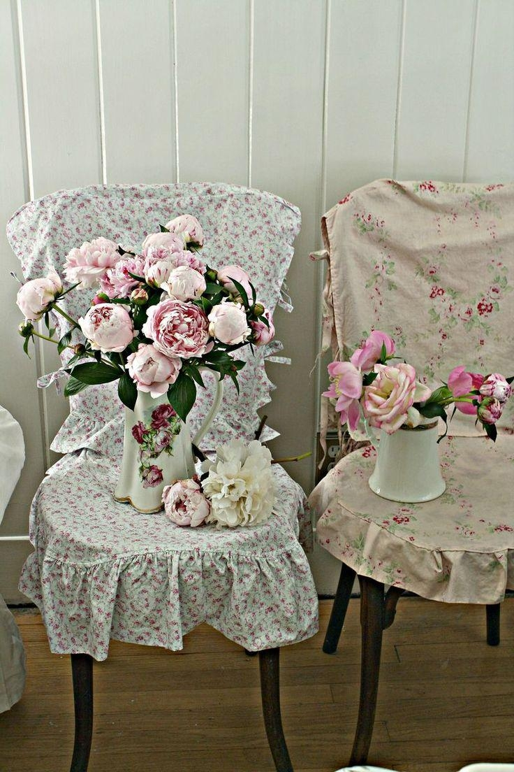 Decorating: Fabric For Slipcovers | Shabby Chic Slipcovers Throughout Shabby Chic Slipcovers (Image 8 of 20)