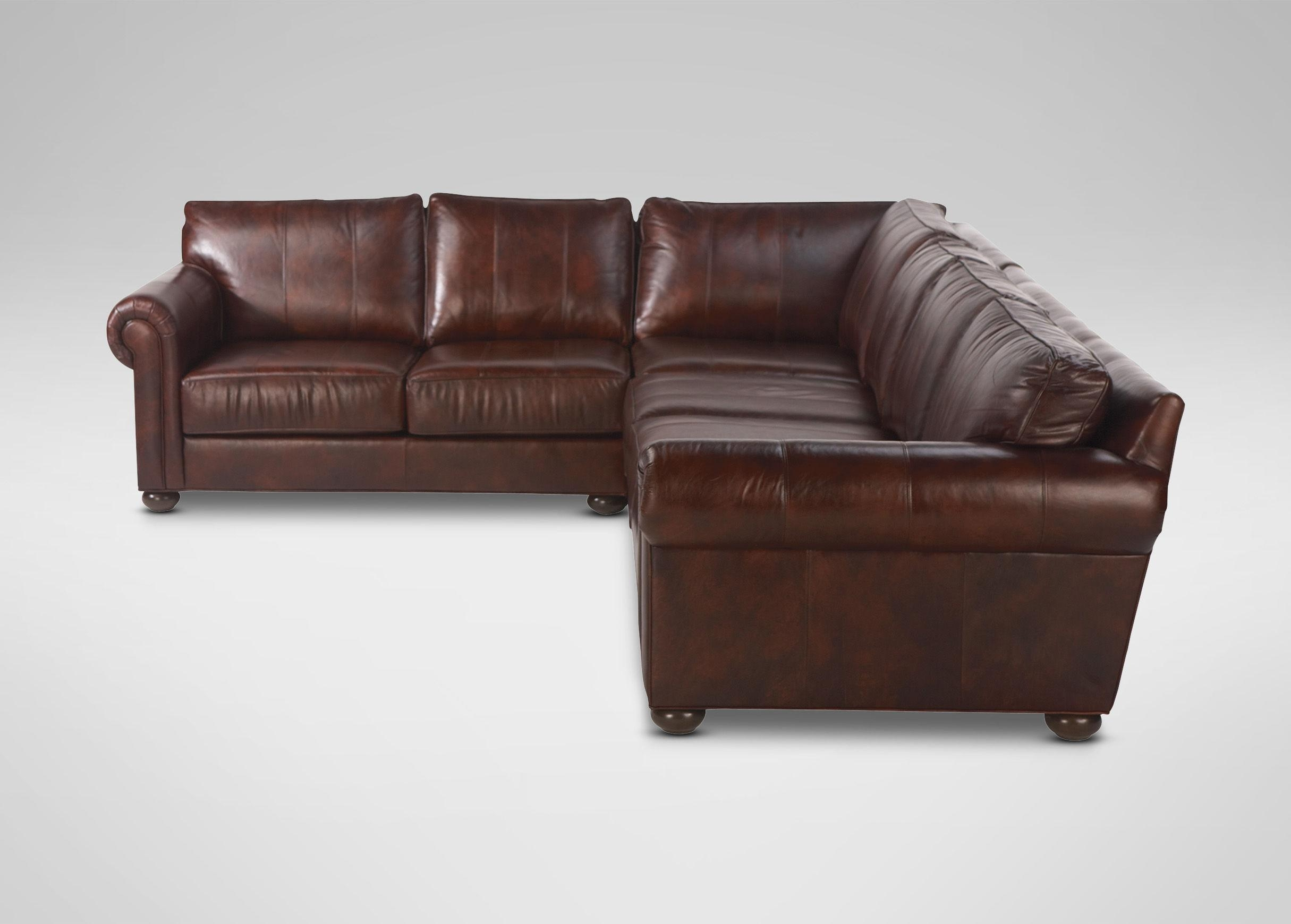 Decorating: Interesting Design Deep Sectional Sofa With Marvelous With Deep Seat Leather Sectional (Image 2 of 15)