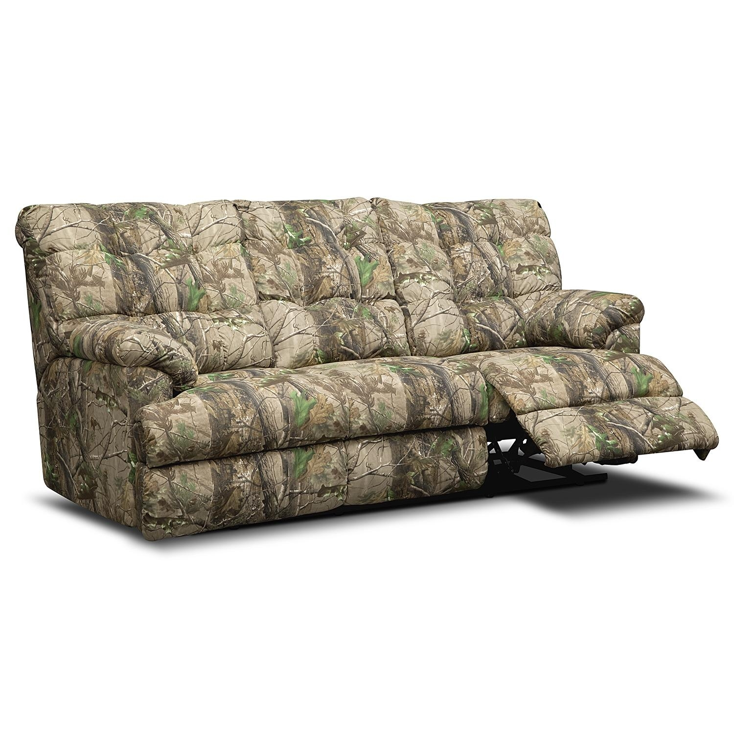 Decorating: Unique Interior Furniture Decoration With Exciting Regarding Camo Reclining Sofas (View 16 of 20)