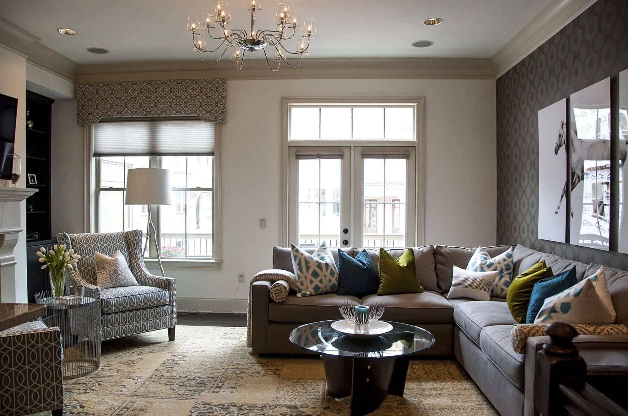 Decorating With A Sectional Sofa – Hotelsbacau Pertaining To Media Sofa Sectionals (Image 4 of 20)