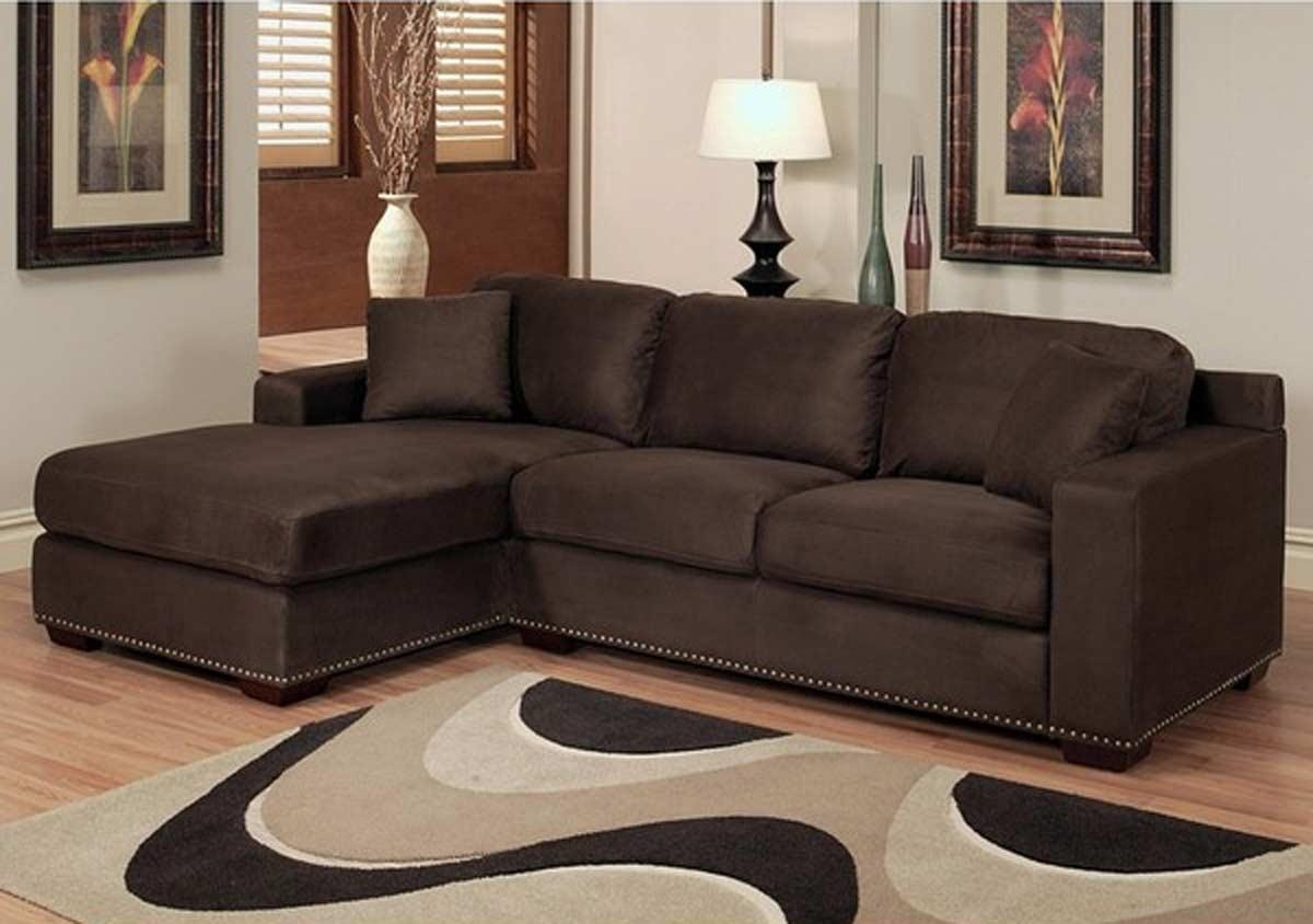 Decoration Chocolate Brown Sectional Sofa With Sectional Sofas Regarding Chocolate Brown Sectional Sofa (Image 5 of 15)