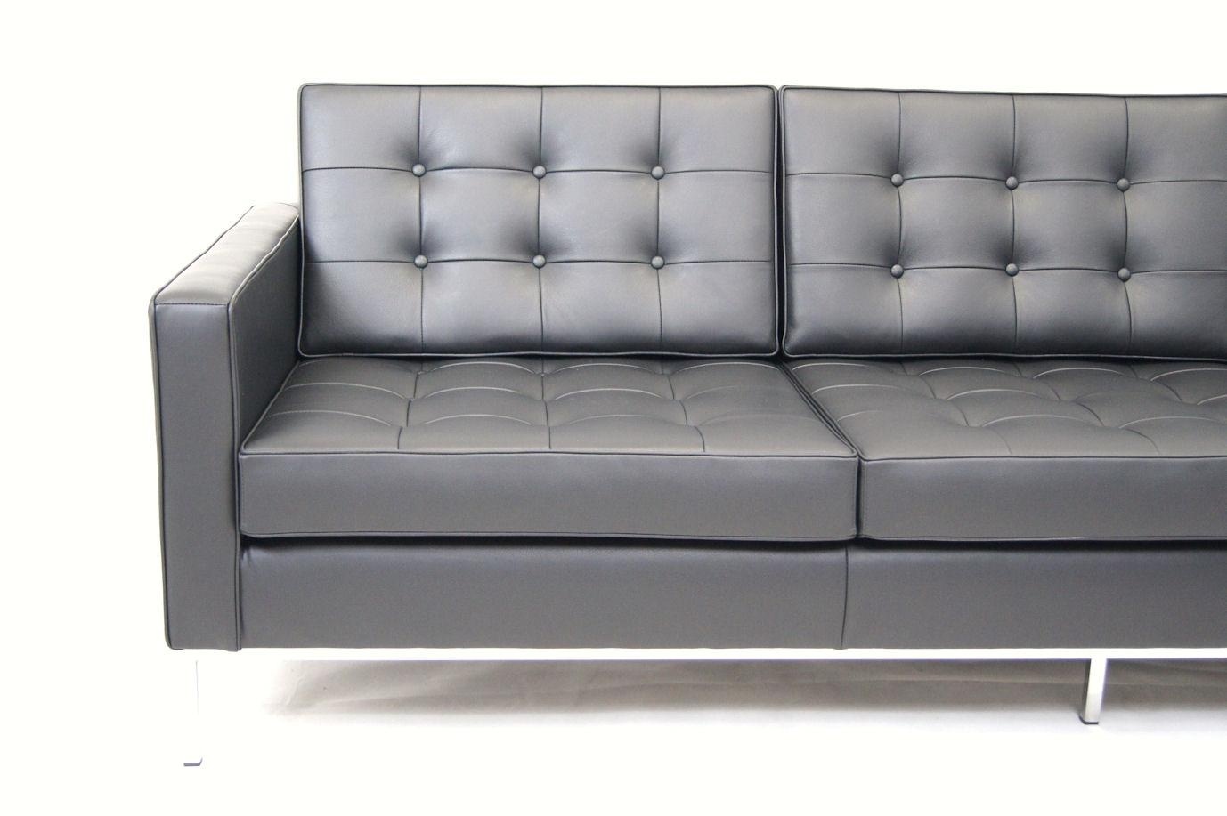 Decoration Knoll Florence Sofa With Florence Knoll Sofa Florence Pertaining To Florence Sofas (Image 3 of 20)
