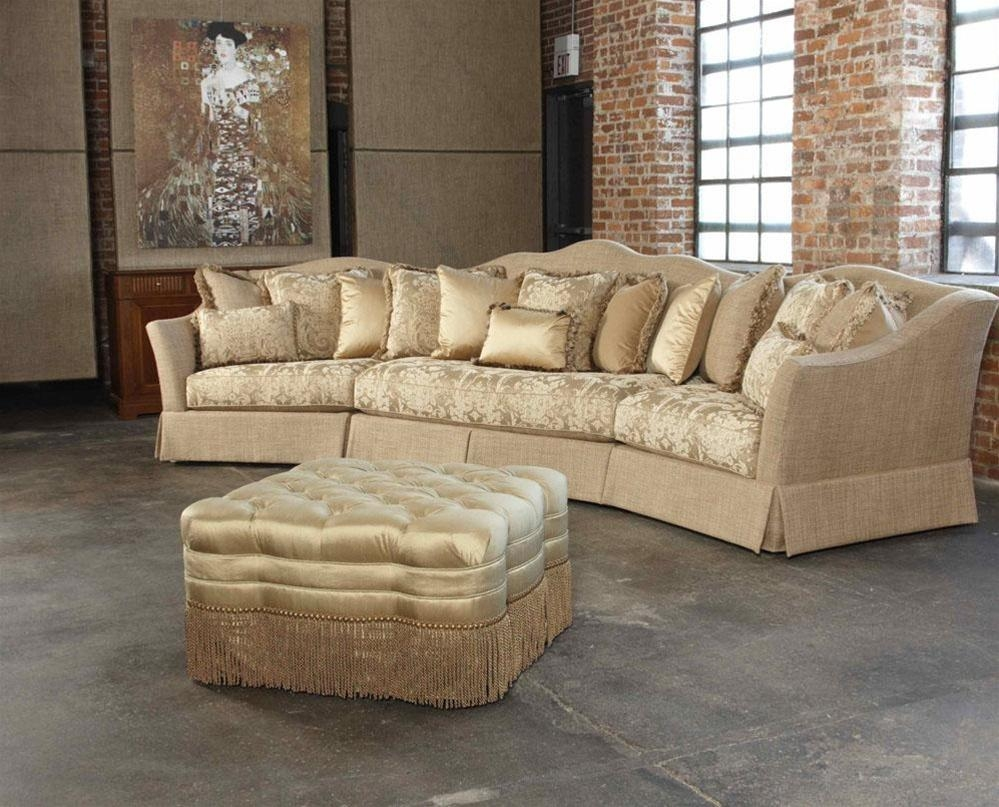 Decoration Leather Fabric Sectional Sofa With Fabric Couches In Intended For High End Leather Sectionals (Image 5 of 20)