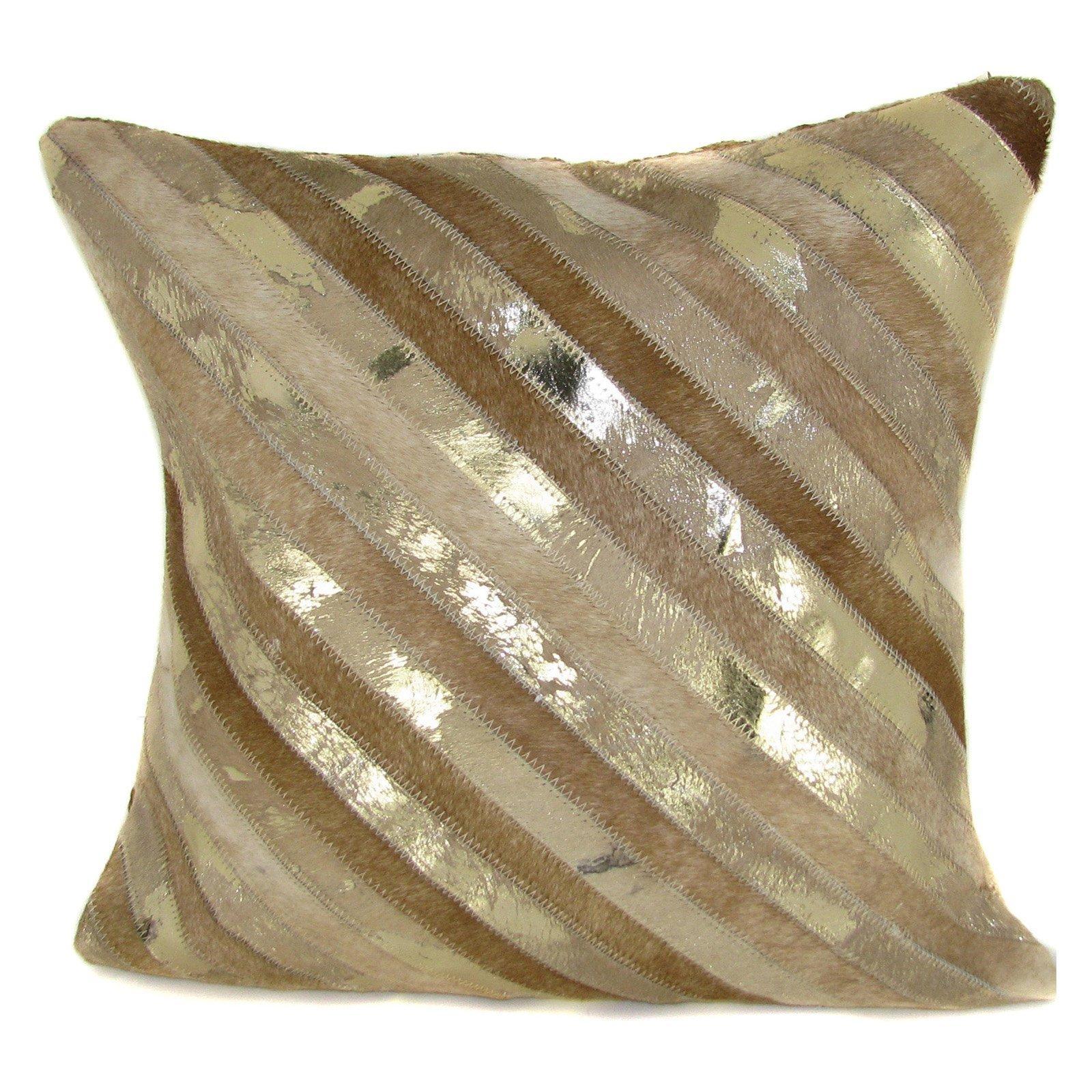 Decorative Gold Throw Pillows | Home Designjohn Regarding Gold Sofa Pillows (View 14 of 20)