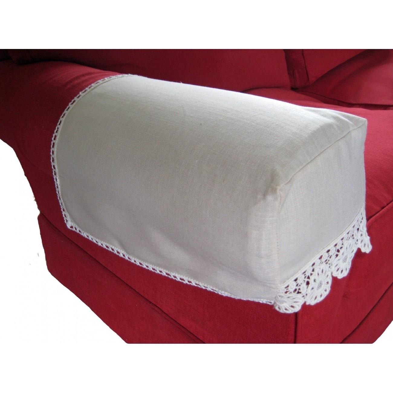 Delighful Armchair Arm Covers Lace Pattern For Chair Backs And Pertaining To Arm Protectors For Sofas (View 18 of 20)