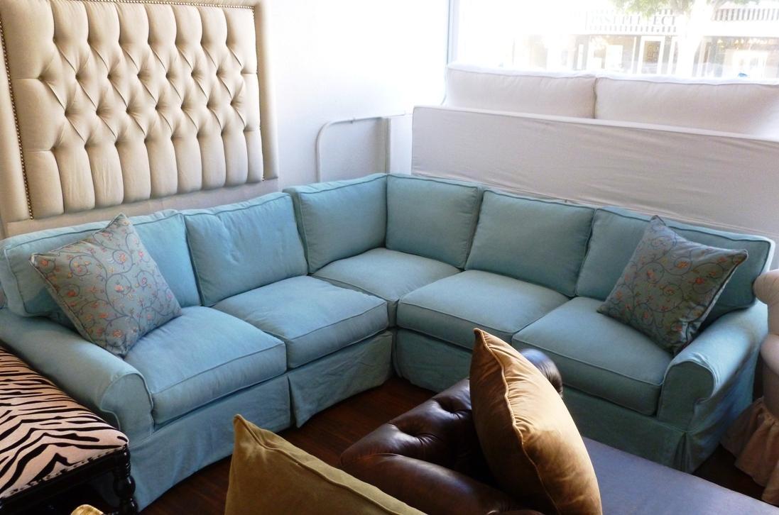 Denim Sofa Cover With Design Image 28407 | Kengire With Blue Denim Sofas (View 13 of 20)