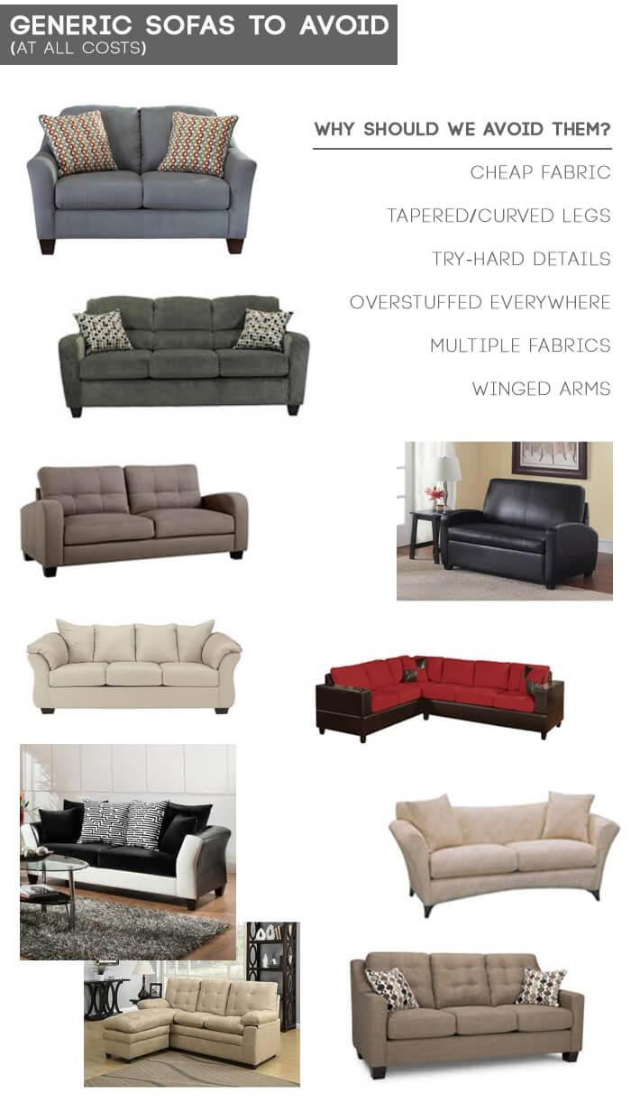 Design Mistake #1: The Generic Sofa – Emily Henderson Inside Mid Range Sofas (Image 7 of 20)