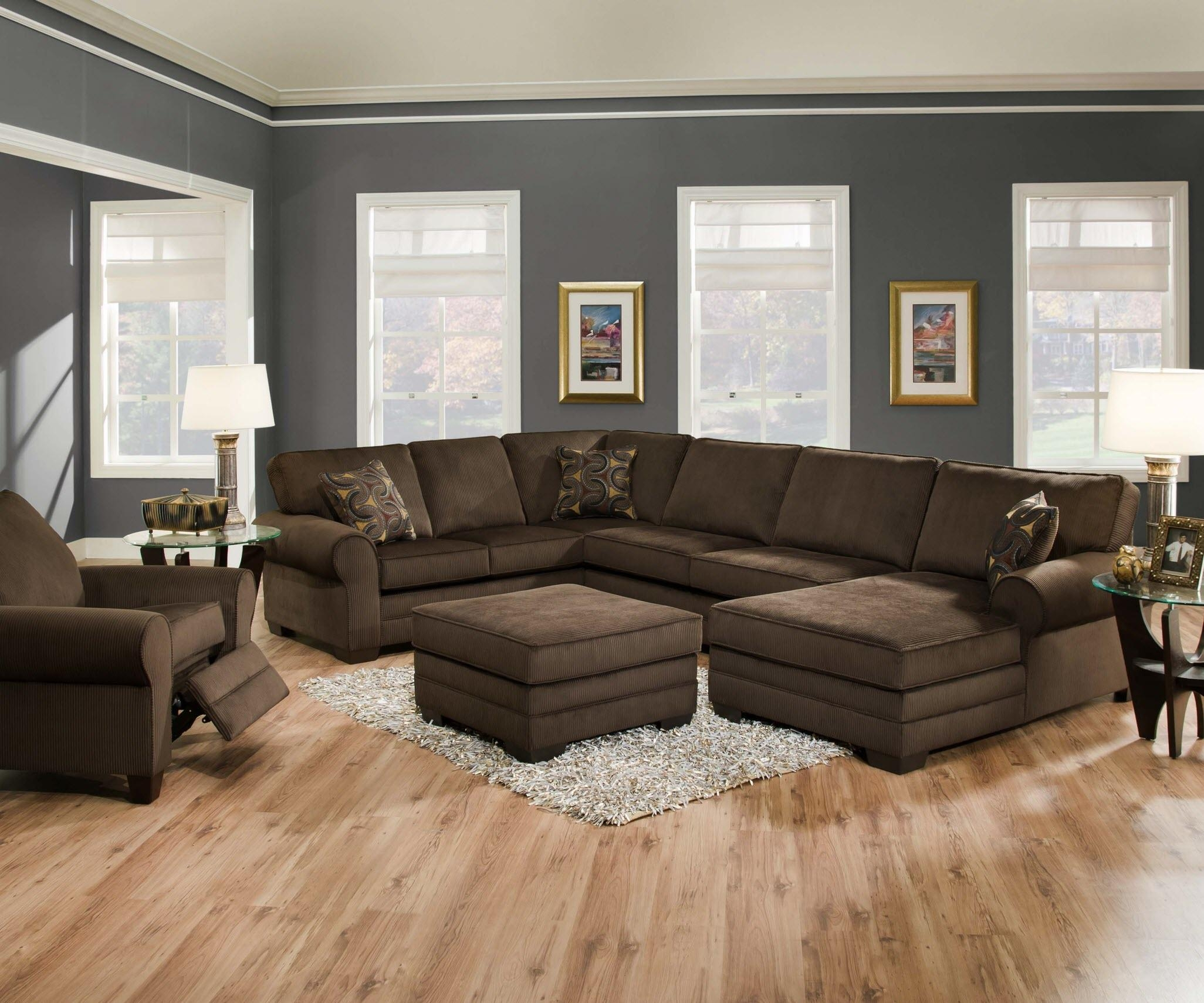 Designssimmons – Simmons Soho Espresso Sofa Loveseat Regarding Simmons Sectional Sofas (Image 1 of 20)