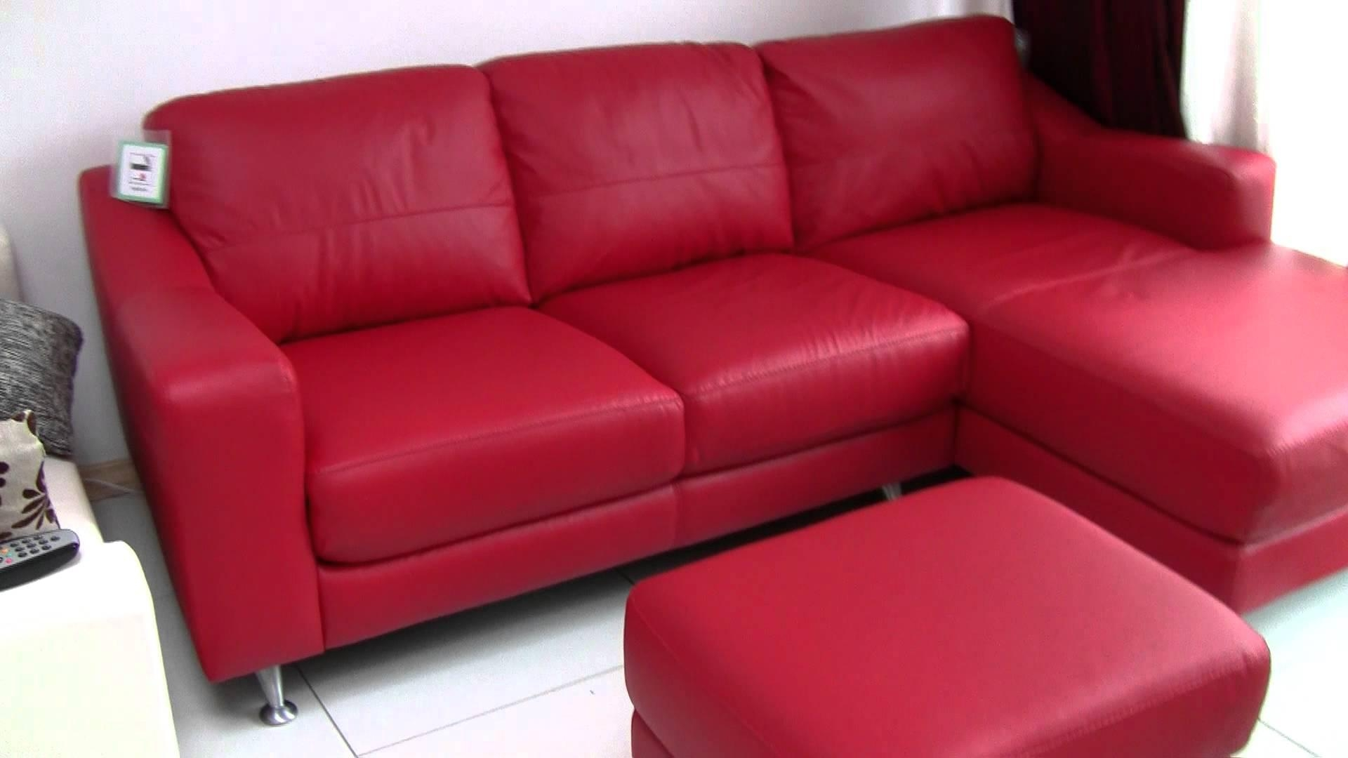 Dfs Leather Corner Sofa For Sale £500 – Youtube With Leather Corner Sofa Bed (Image 5 of 20)