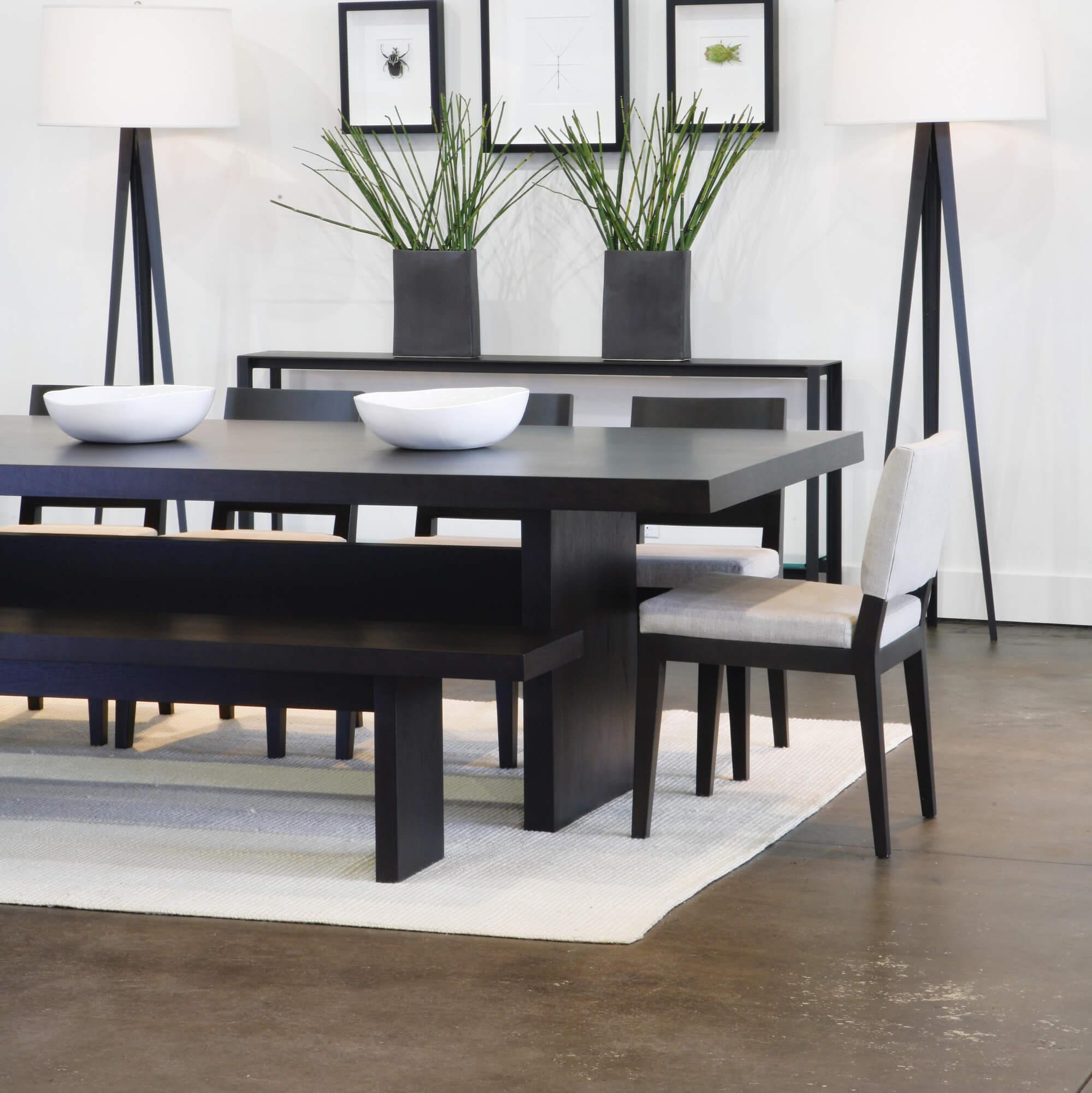Dining Room Furniture With Bench 26 Big & Small Dining Room Sets For Dining Room Bench Sofas (Image 6 of 20)